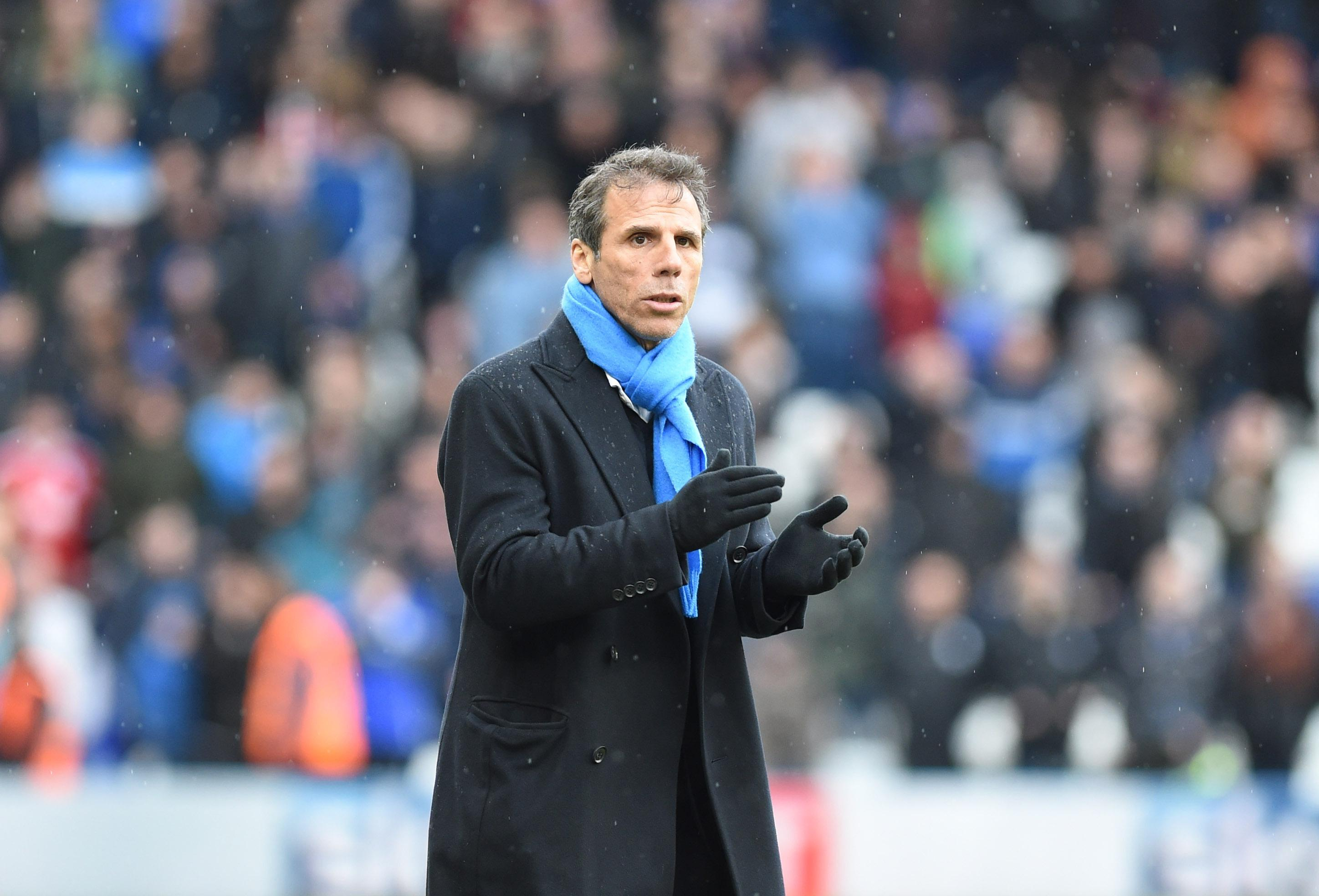 Chelsea legend Gianfranco Zola is also set for a return to Stamford Bridge