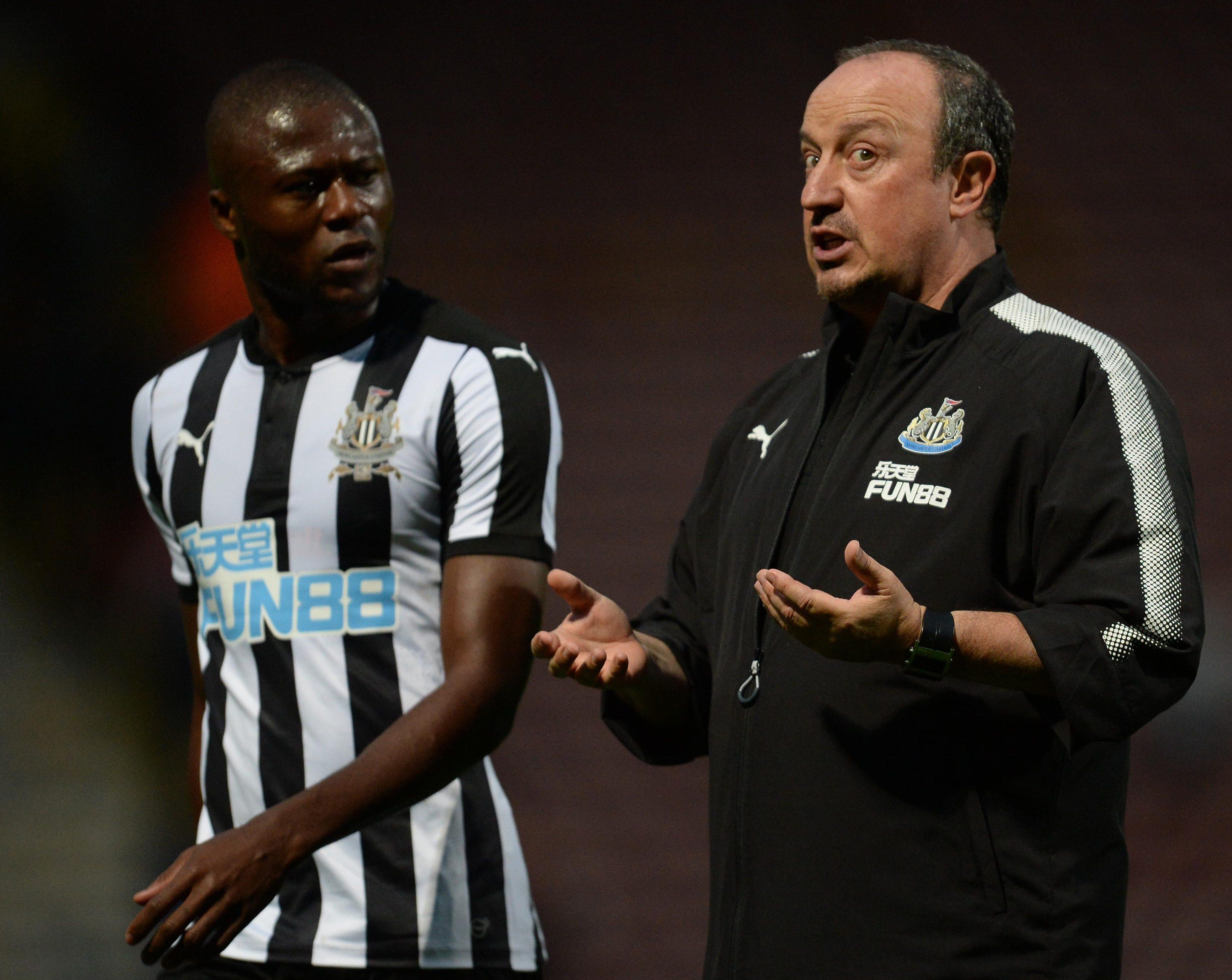 Rafa Benitez is ready to cash-in on Chancel Mbemba