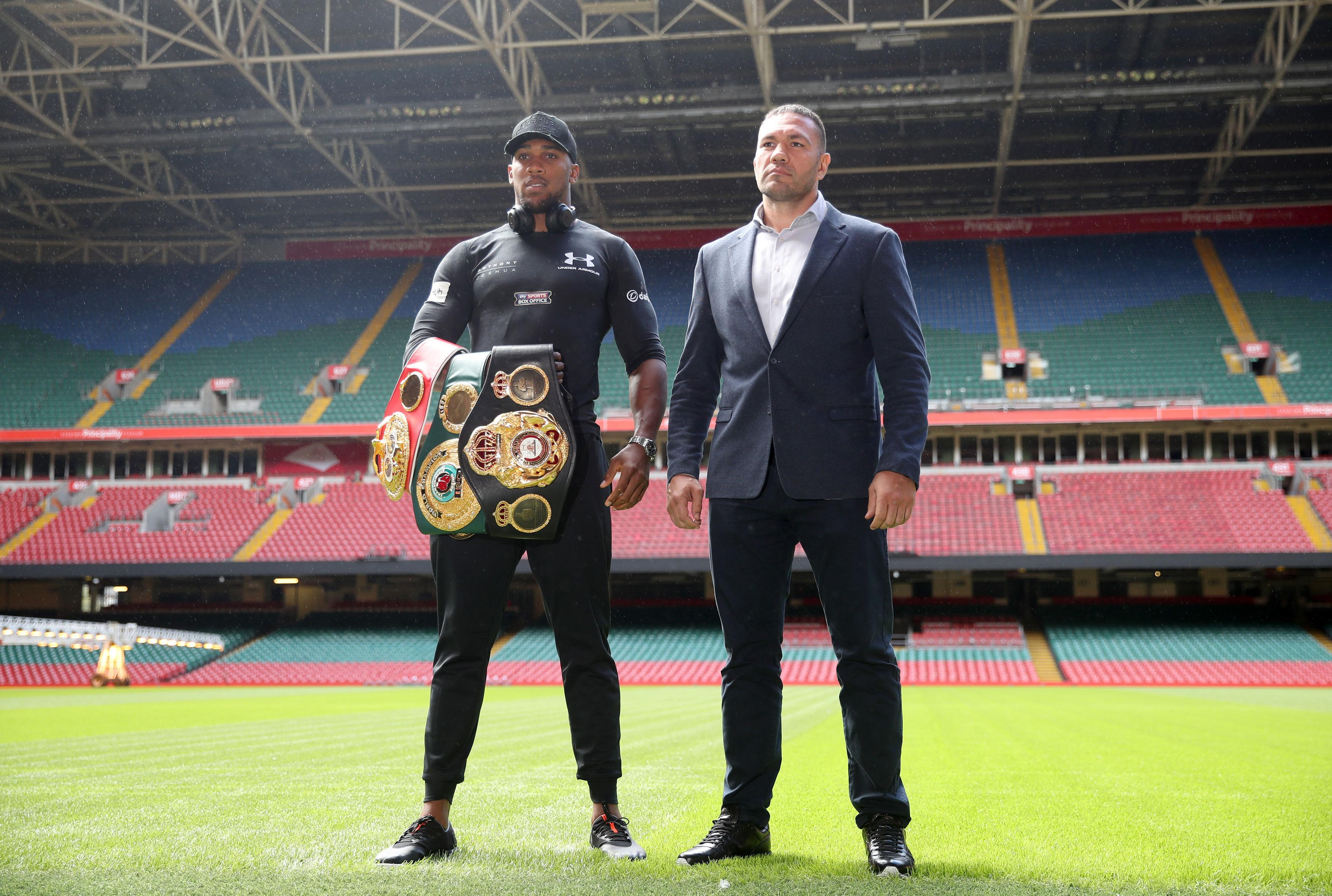 Anthony Joshua has fought twice at the Principality Stadium already and it looks set to be the main venue for his next fight
