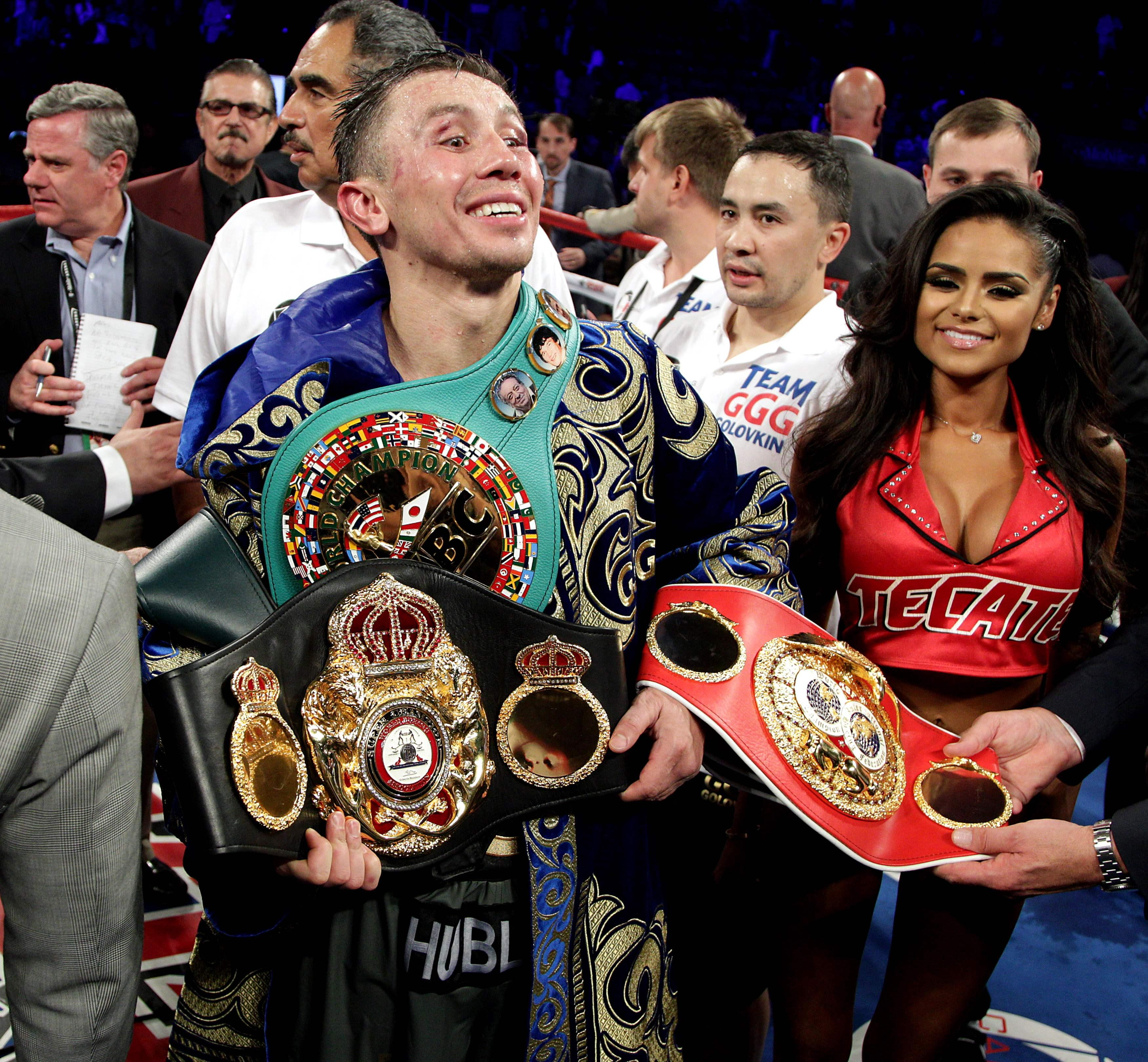 GGG retained the WBC, WBA and IBF belts with a draw
