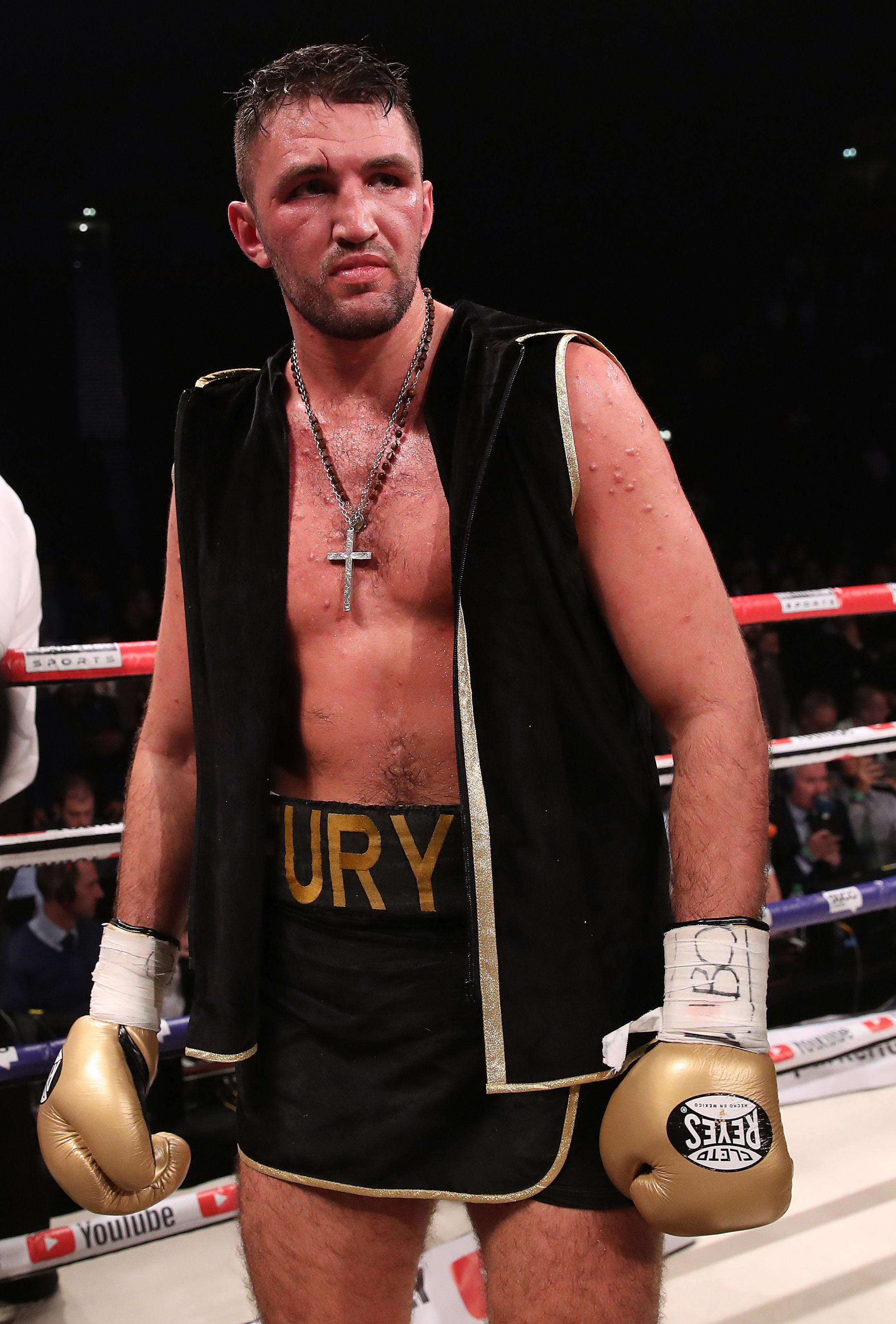 Hughie Fury is ready to step up and challenge for Anthony Joshua's IBF heavyweight belt