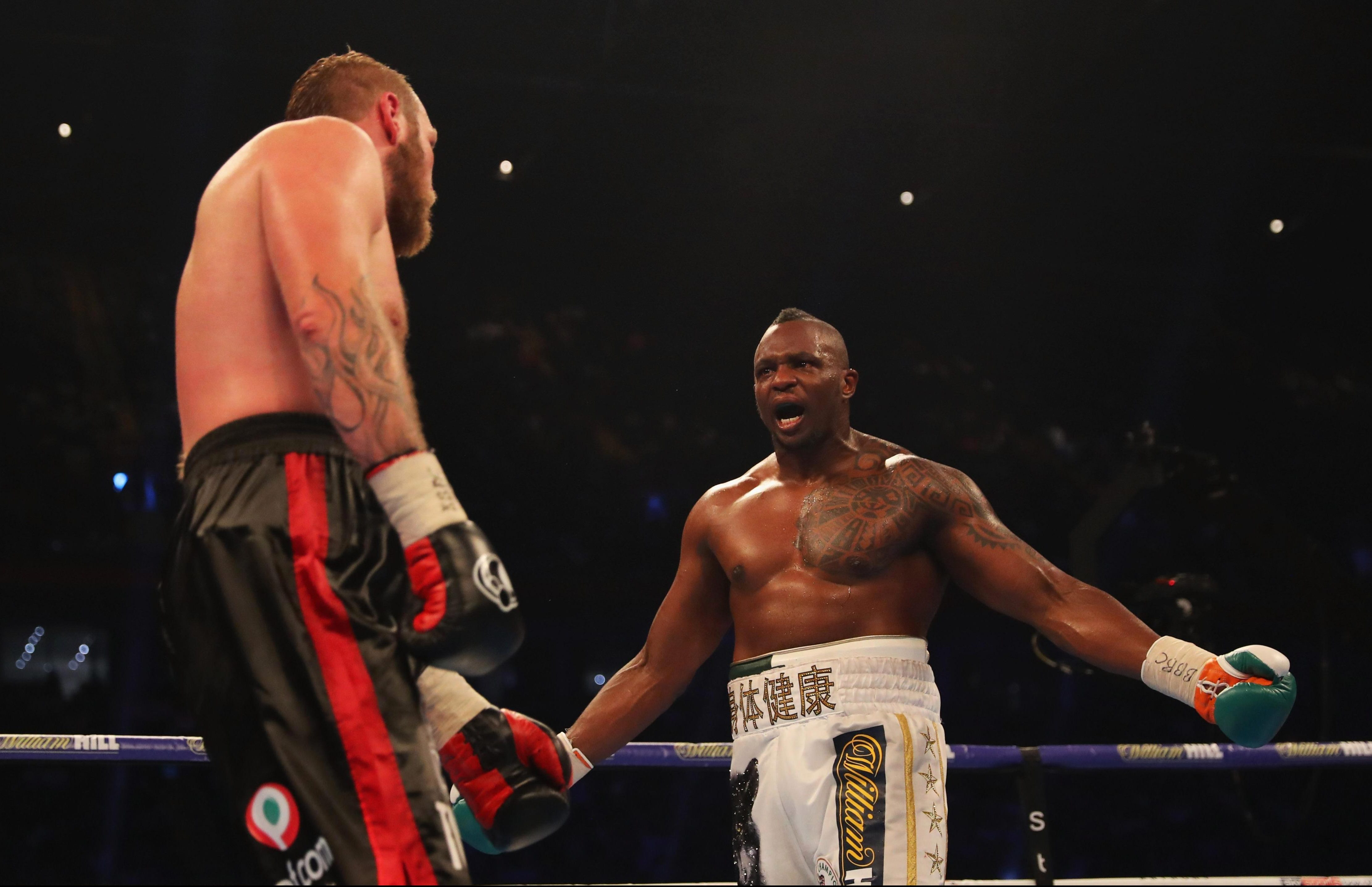 Dillian Whyte is known as the 'Body Snatcher'