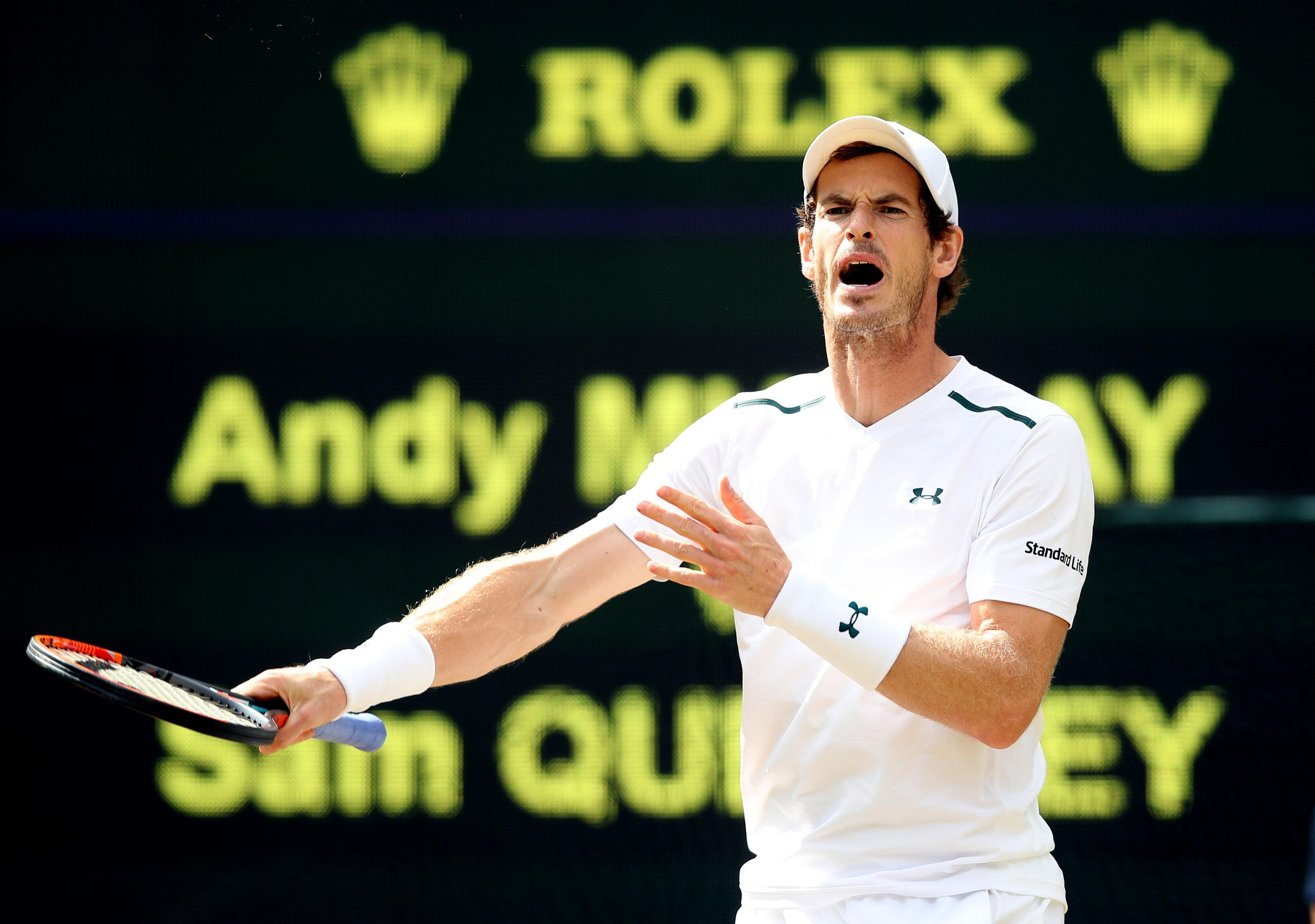 Andy Murray's progress has been 'very slow' in recovering from injury