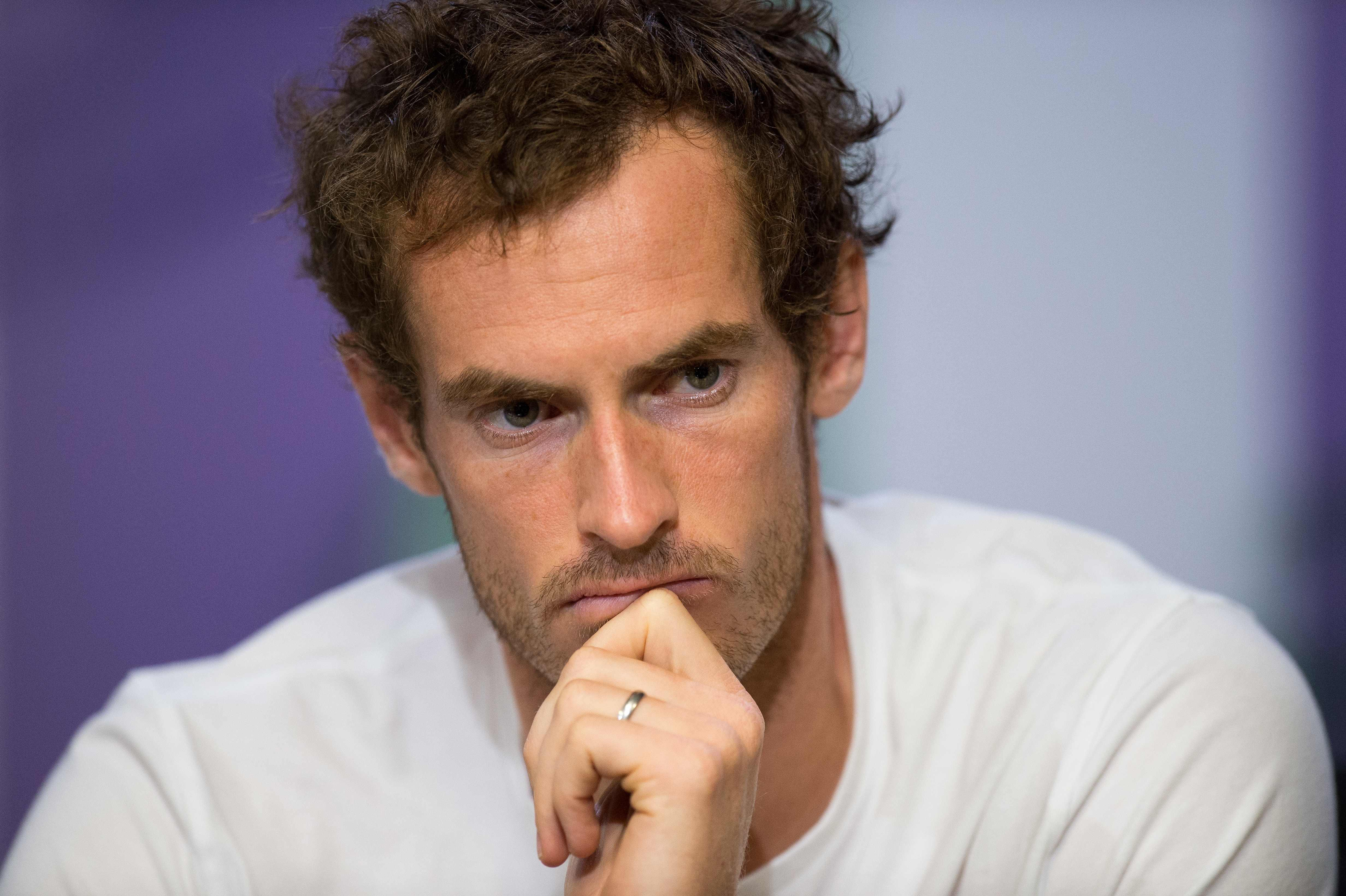 Andy Murray is struggling to be fit for this summer's tournament SW19