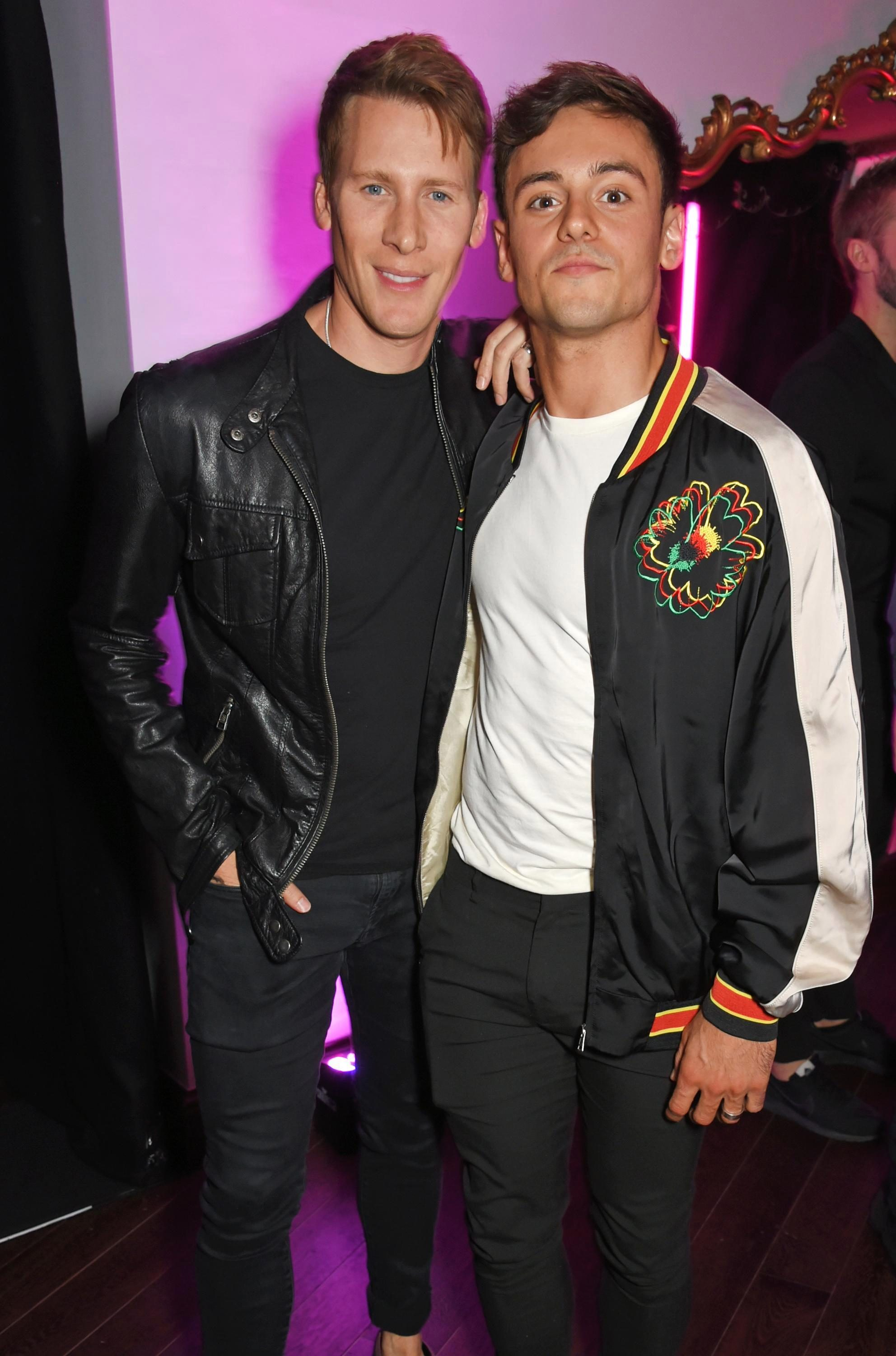 Dustin Lance Black and Tom Daley are overjoyed at becoming dads to Robert Ray Black-Daley