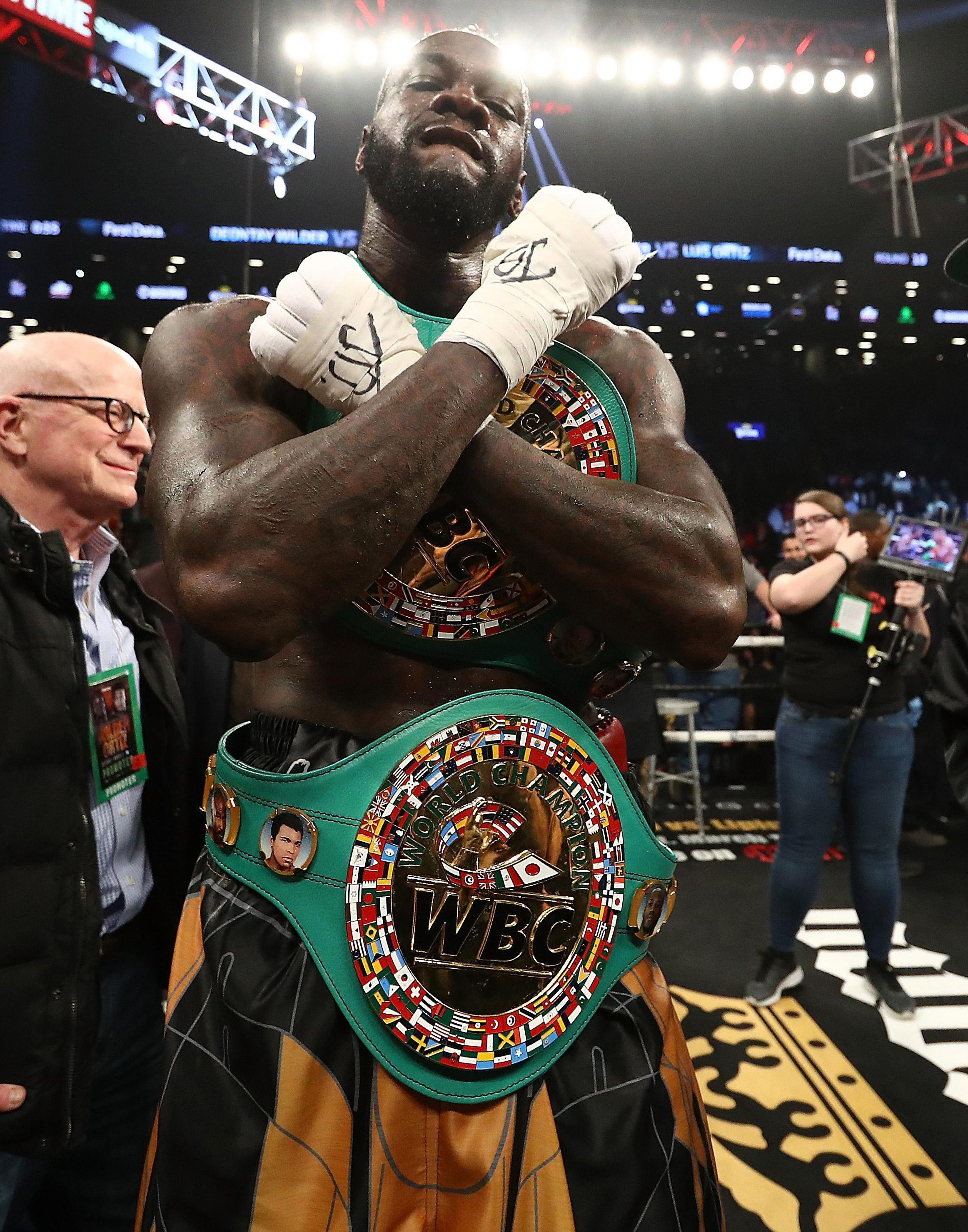 Deontay Wilder is fuming after seeing a unification fight against AJ fall by the wayside