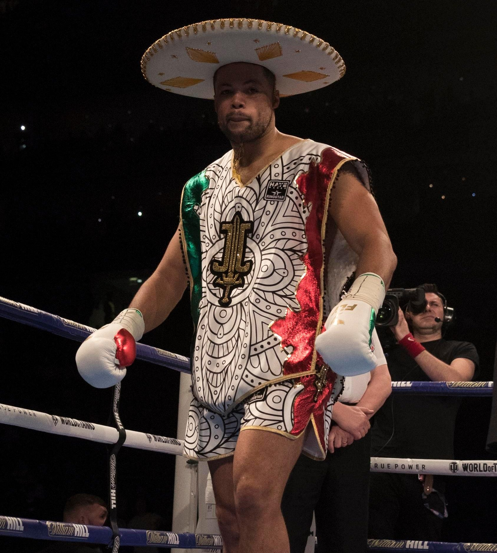 Joyce demolished Lenroy Thomas to take the Commonwealth heavyweight title last time out
