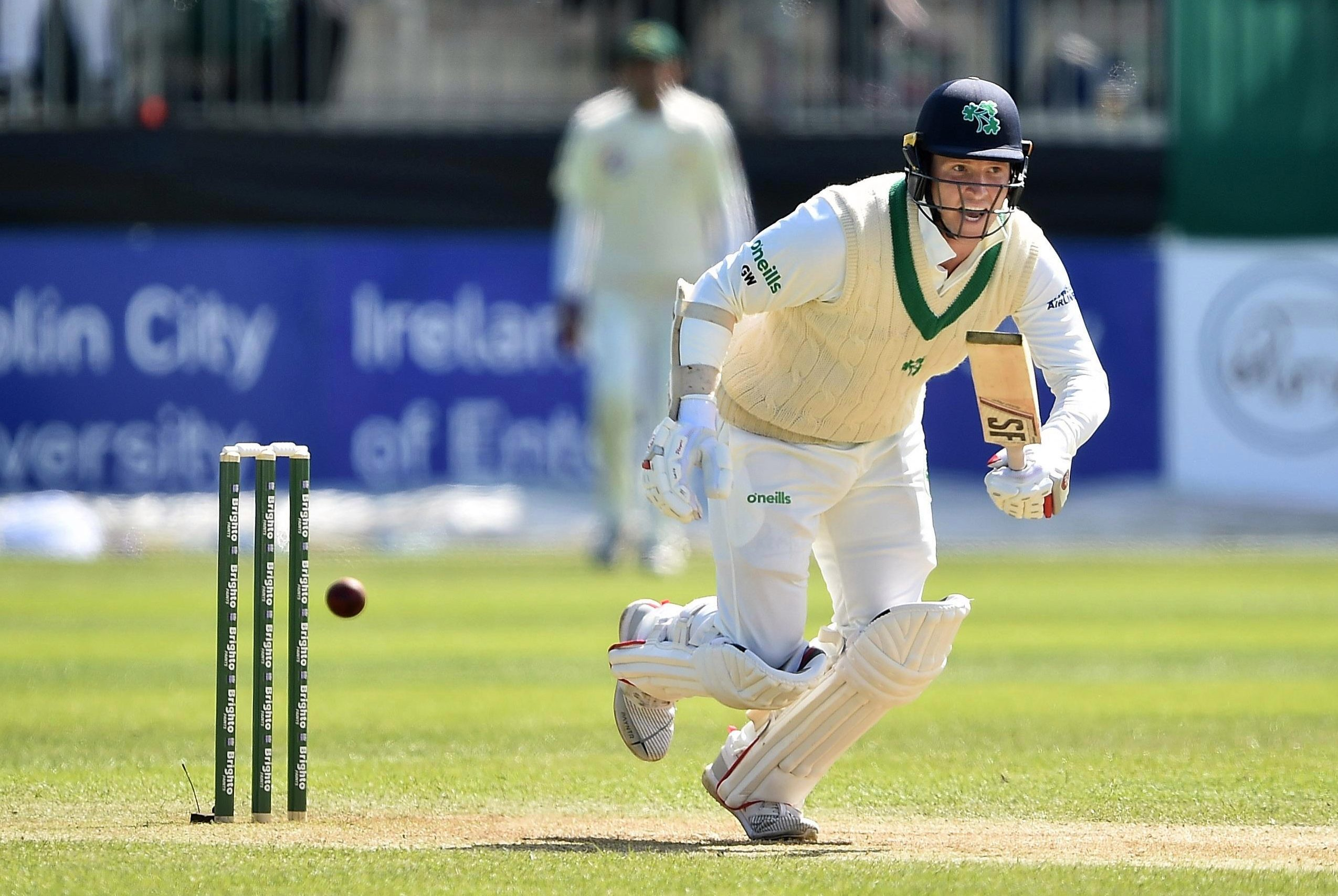 Ireland star Gary Wilson in action against Pakistan in May