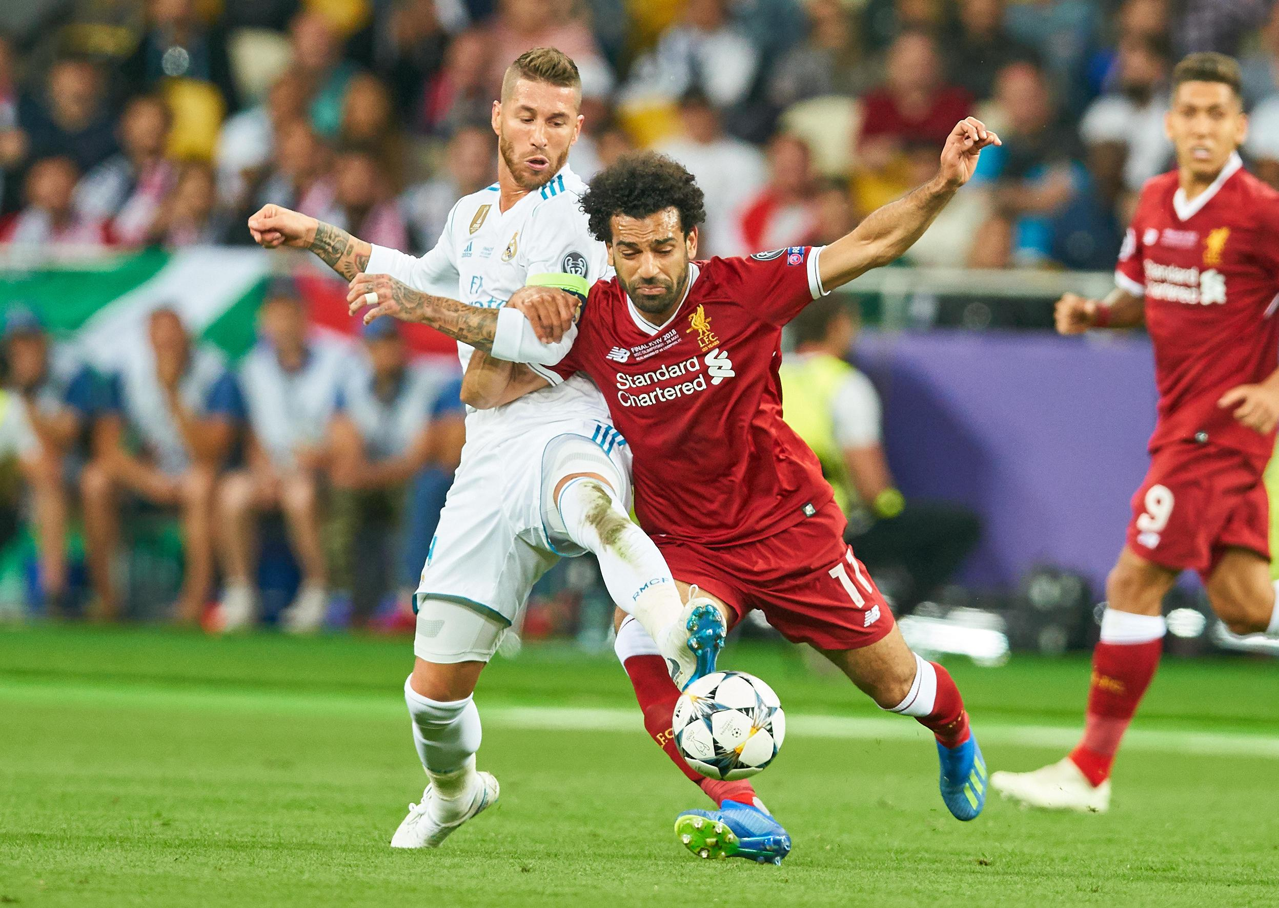 Ramos had said he was not to blame for Mohamed Salah's shoulder injury
