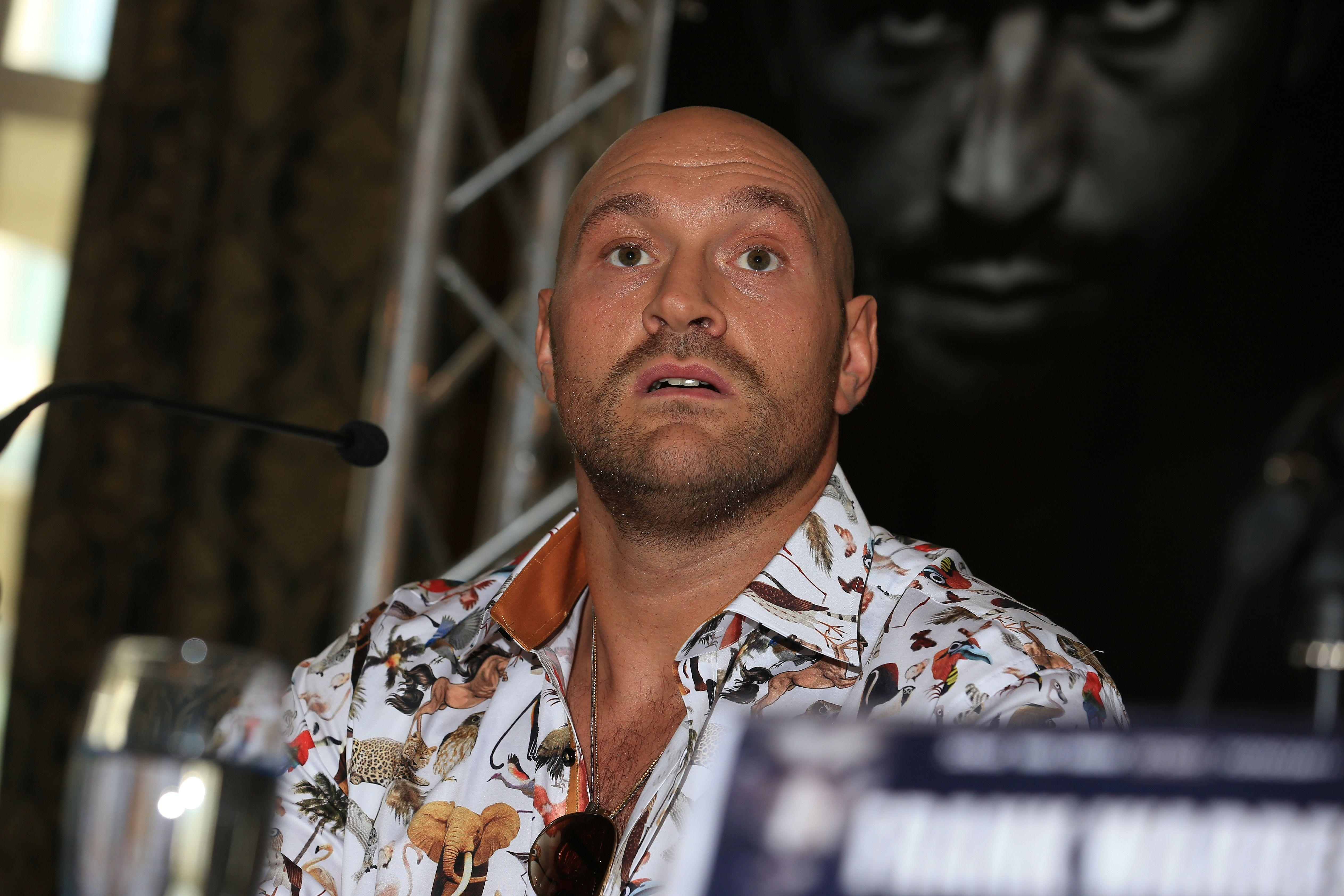 Whyte revealed he offered Fury the chance to fight in September, but was rejected