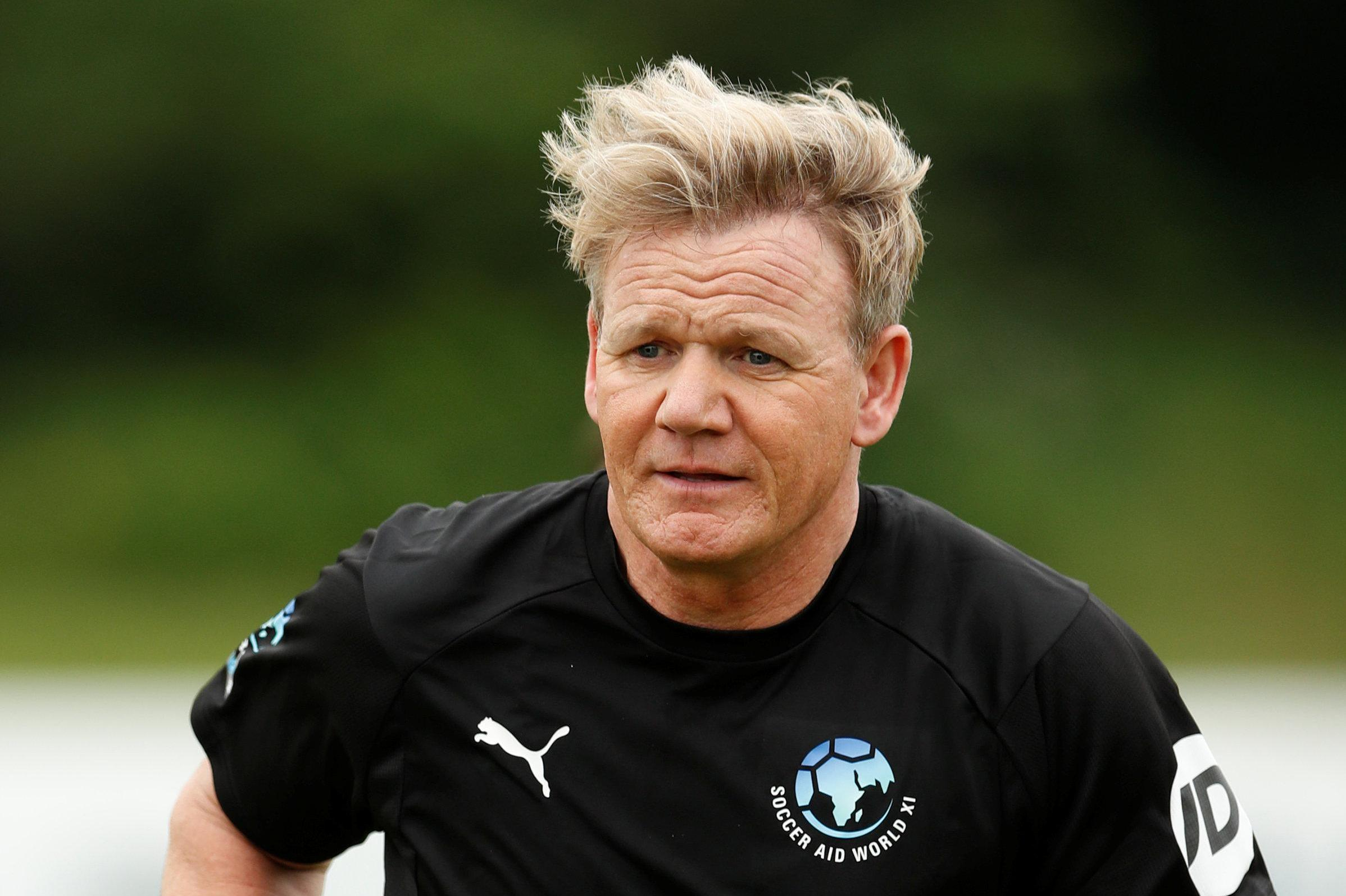 Did Gordon Ramsay ever play for Rangers, and why did Soccer Aid star and top chef's football career end?