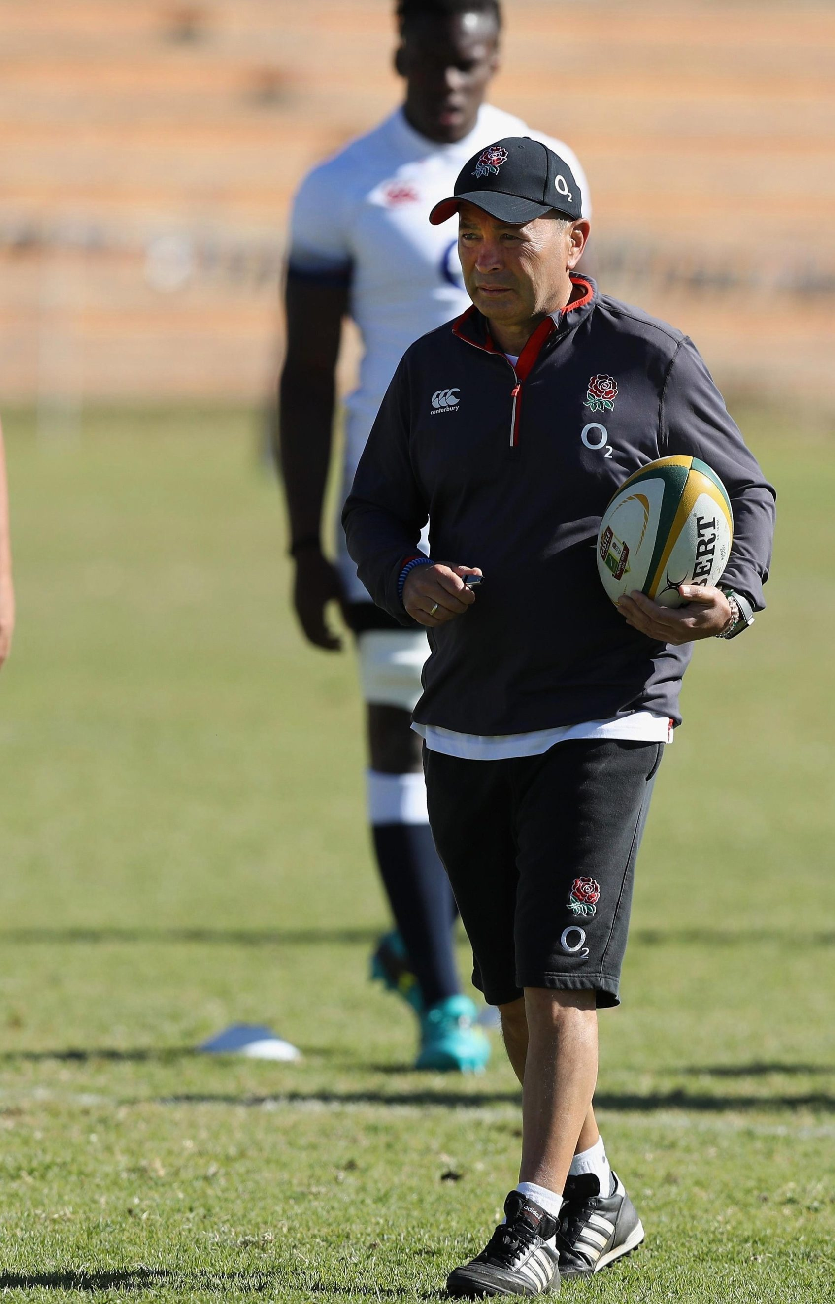 England coach Eddie Jones is well aware that history is against England at Ellis Park