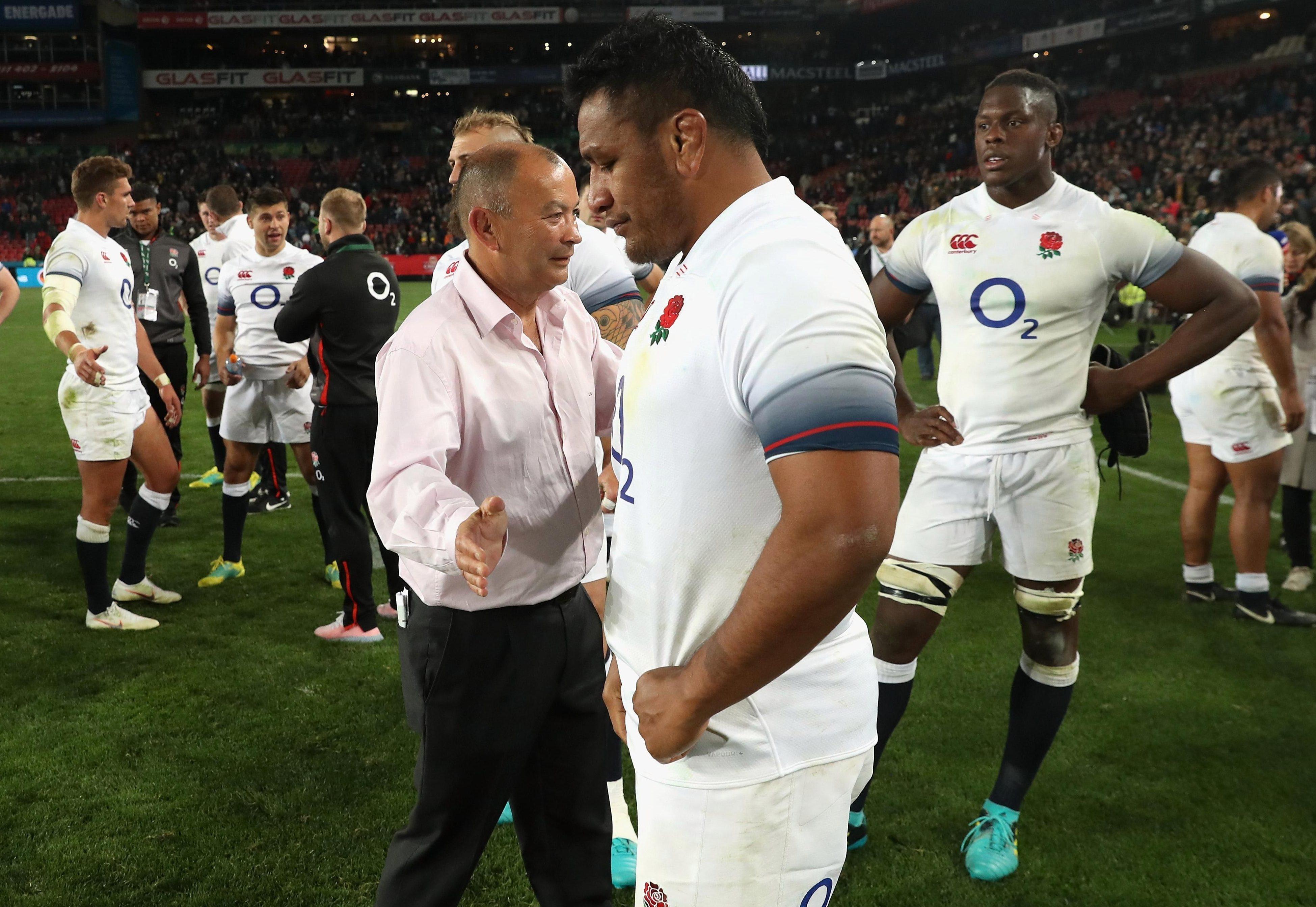 Aussie Eddie Jones felt his side could have won the game