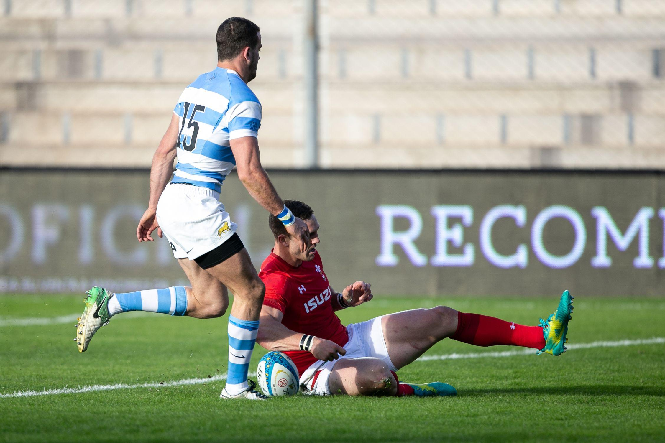 George North scored the second try of the match for the British country