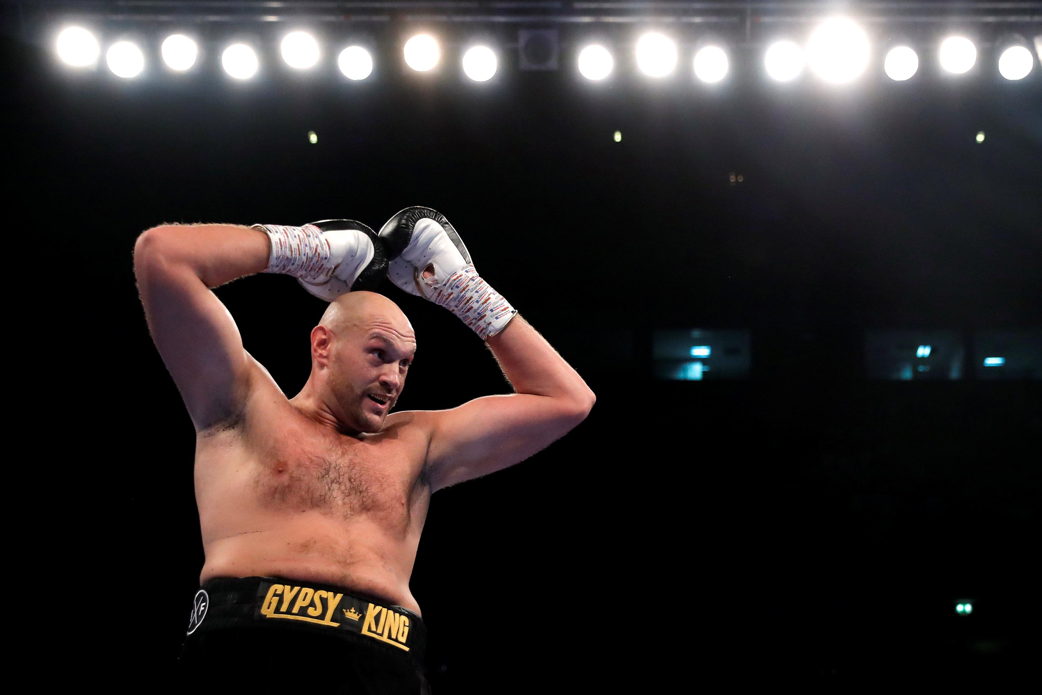 Tyson Fury is adamant he will be back to winning world titles - but after his first fight back, he has a lot still to do