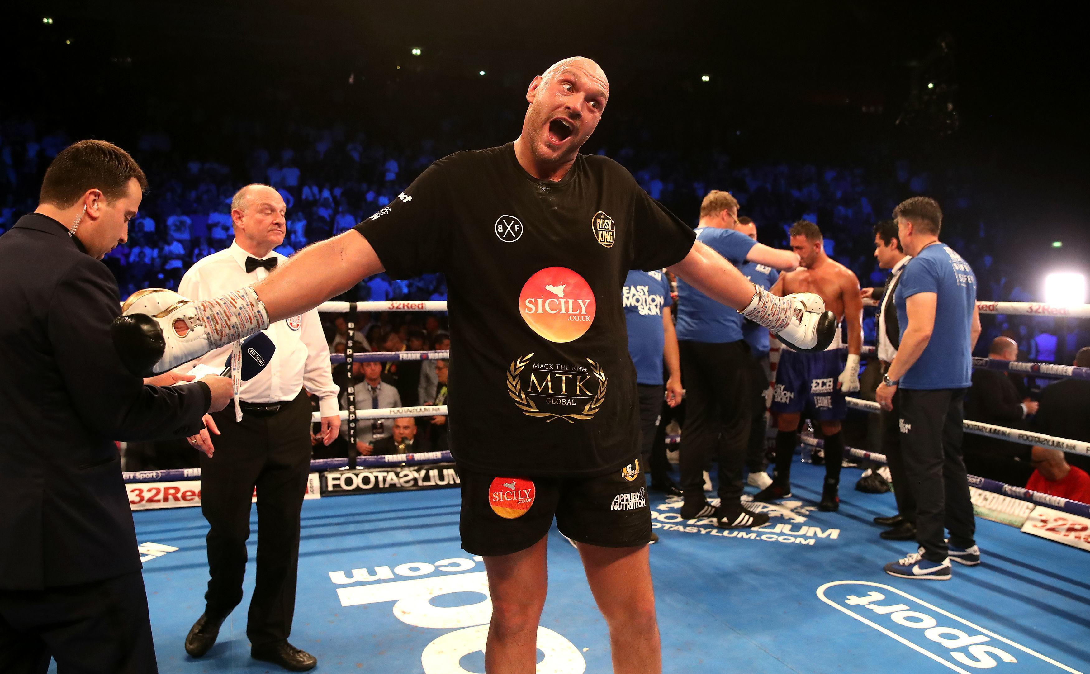 Tyson Fury did what everybody expected him to do - completely dominate a vastly inferior opponent