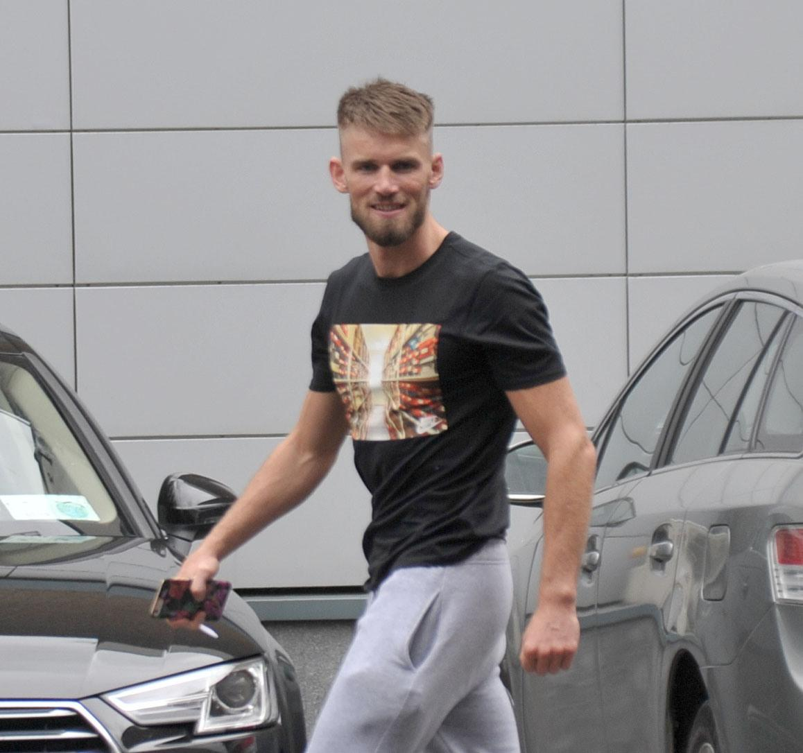 His co-accused pal Cian was also spotted at the Irish travel hub before jetting out to the Big Apple with Conor