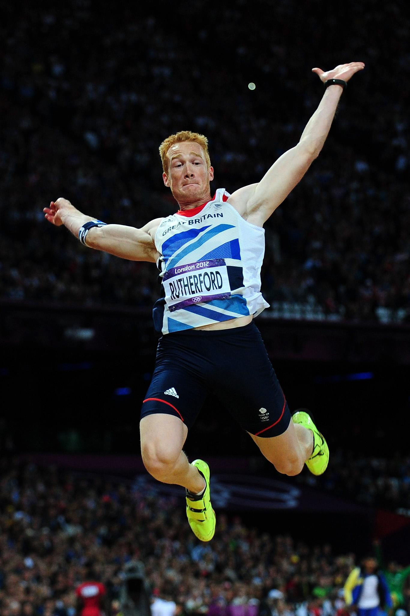 A move into cycling will be a leap into the unkown for Greg Rutherford