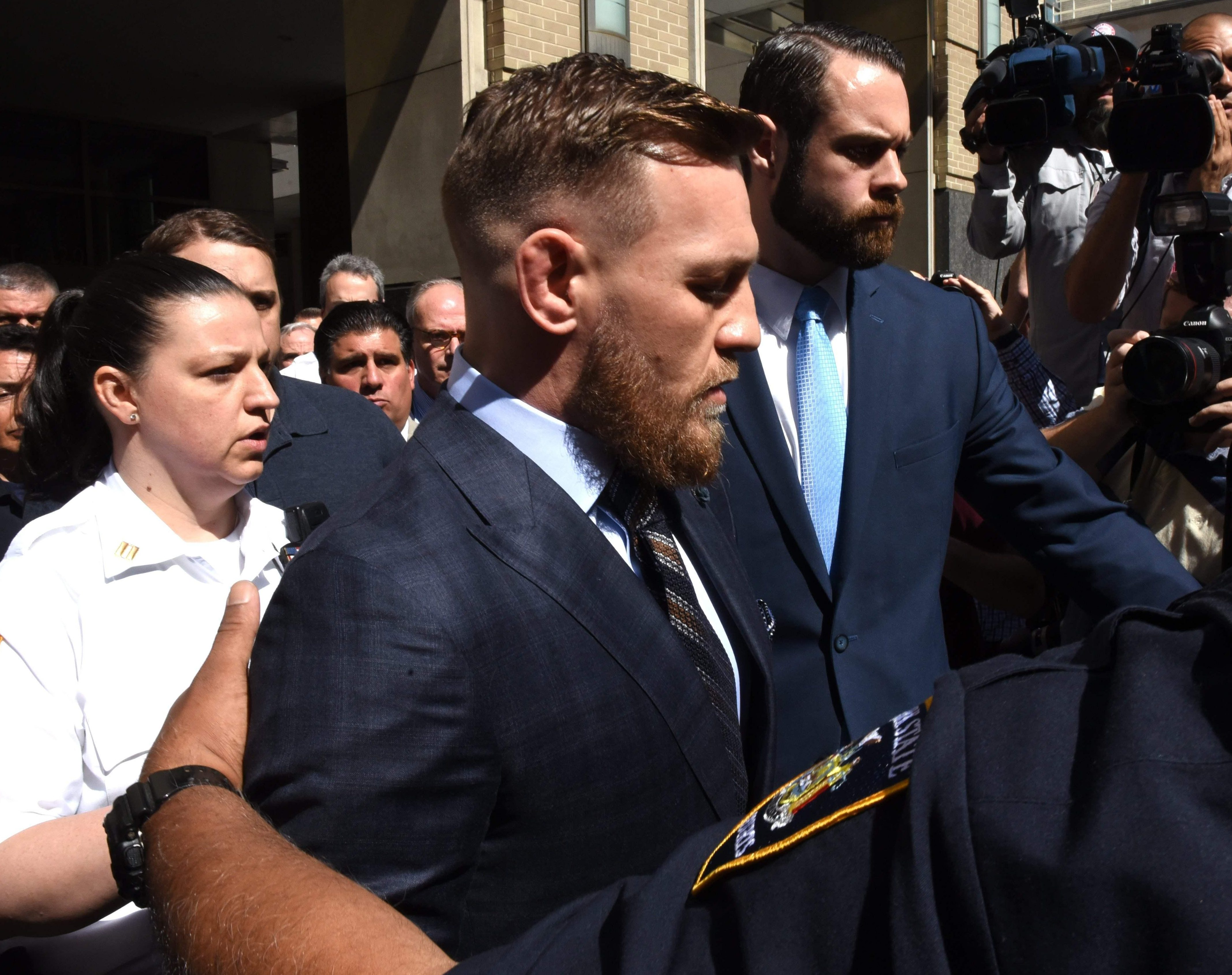 McGregor and co-accused Cian Cowley are due back in court on July 26
