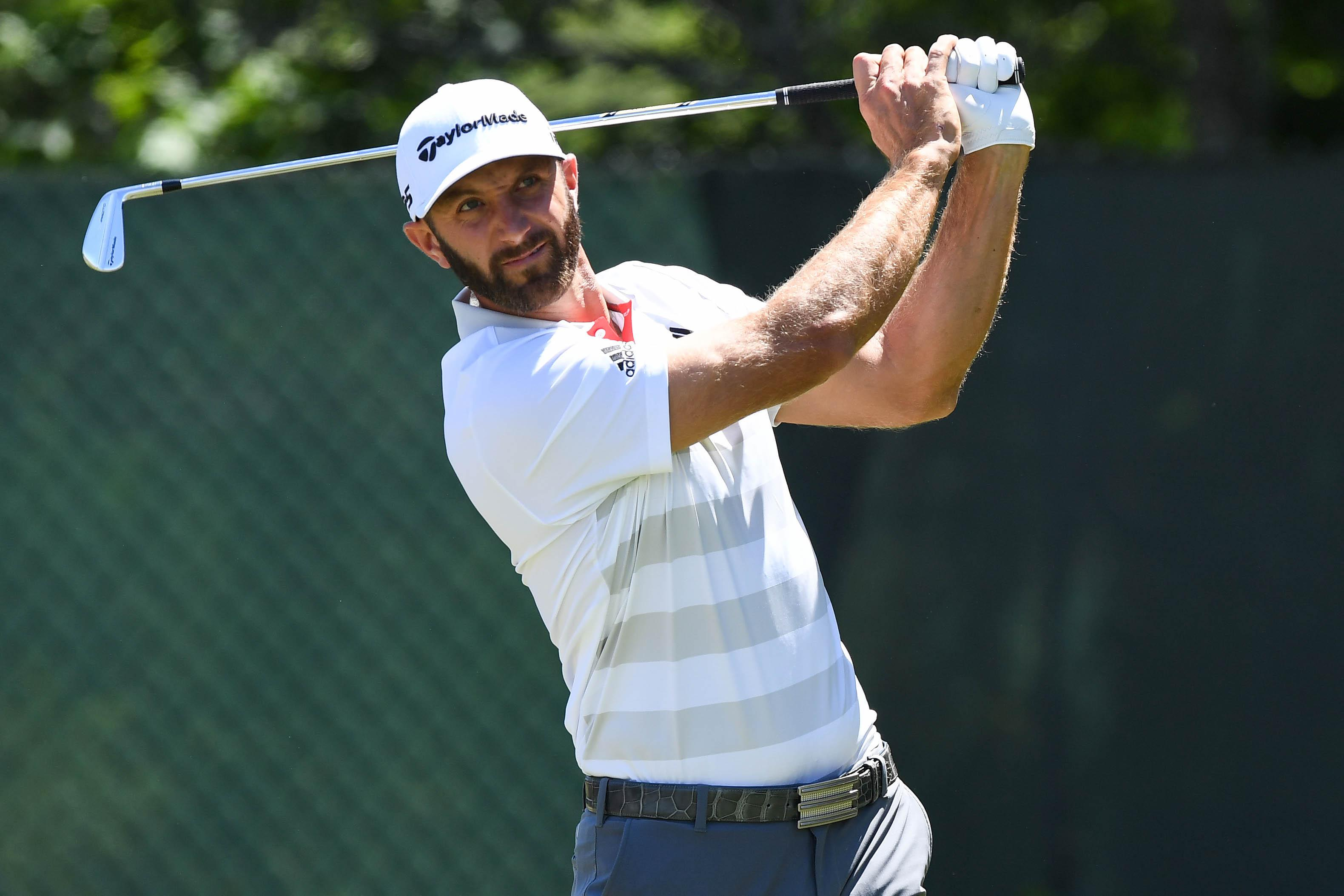 US ace Dustin Johnson got off to a solid start