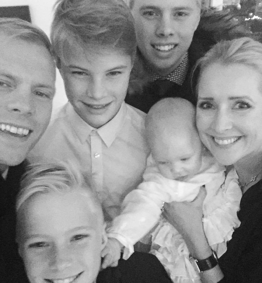 Now Eidur is playing the father figure trying to give the best grounding possible for his children