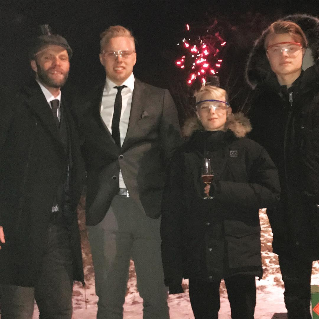 Now Gudjohnsen is having to help nurture the budding young careers of his three sons Sveinn Aron, Daniel Tristan and Anri Lucas