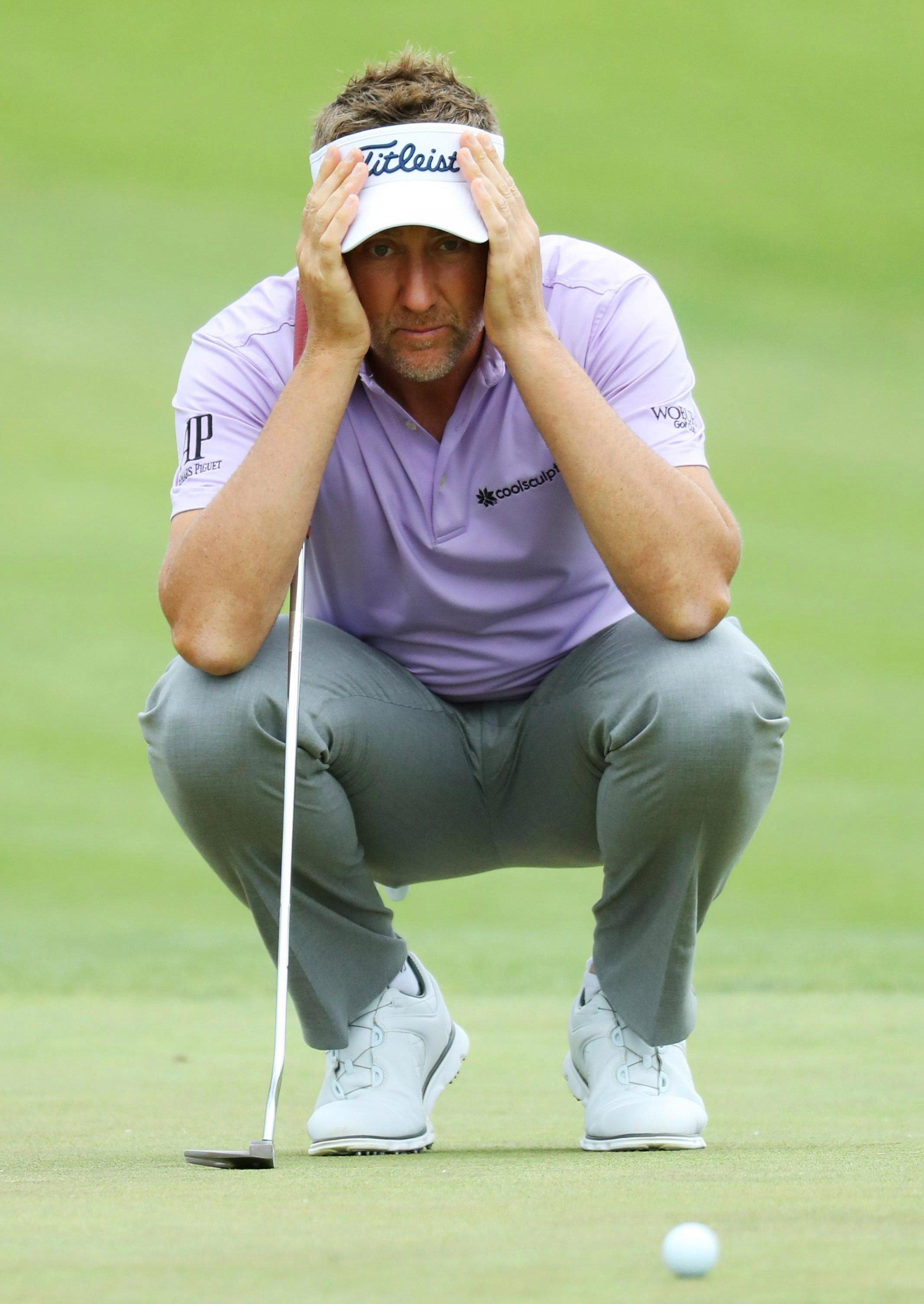 Ian Poulter hit a seven on his penultimate hole that cost him dear