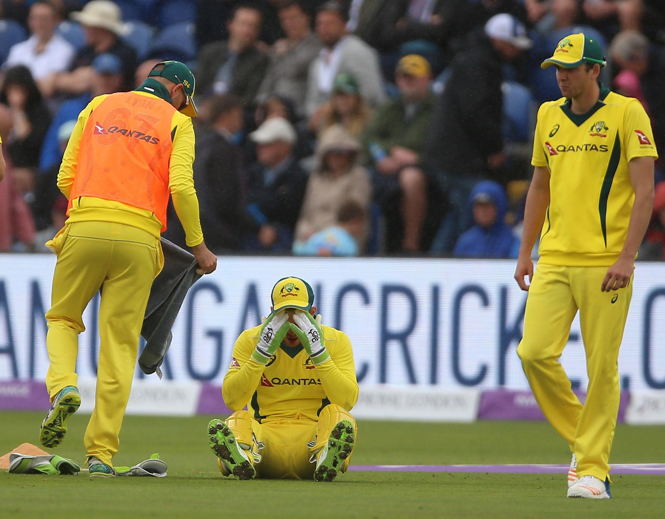 Australia captain Tim Paine had a tooth pulled by a physio live on air