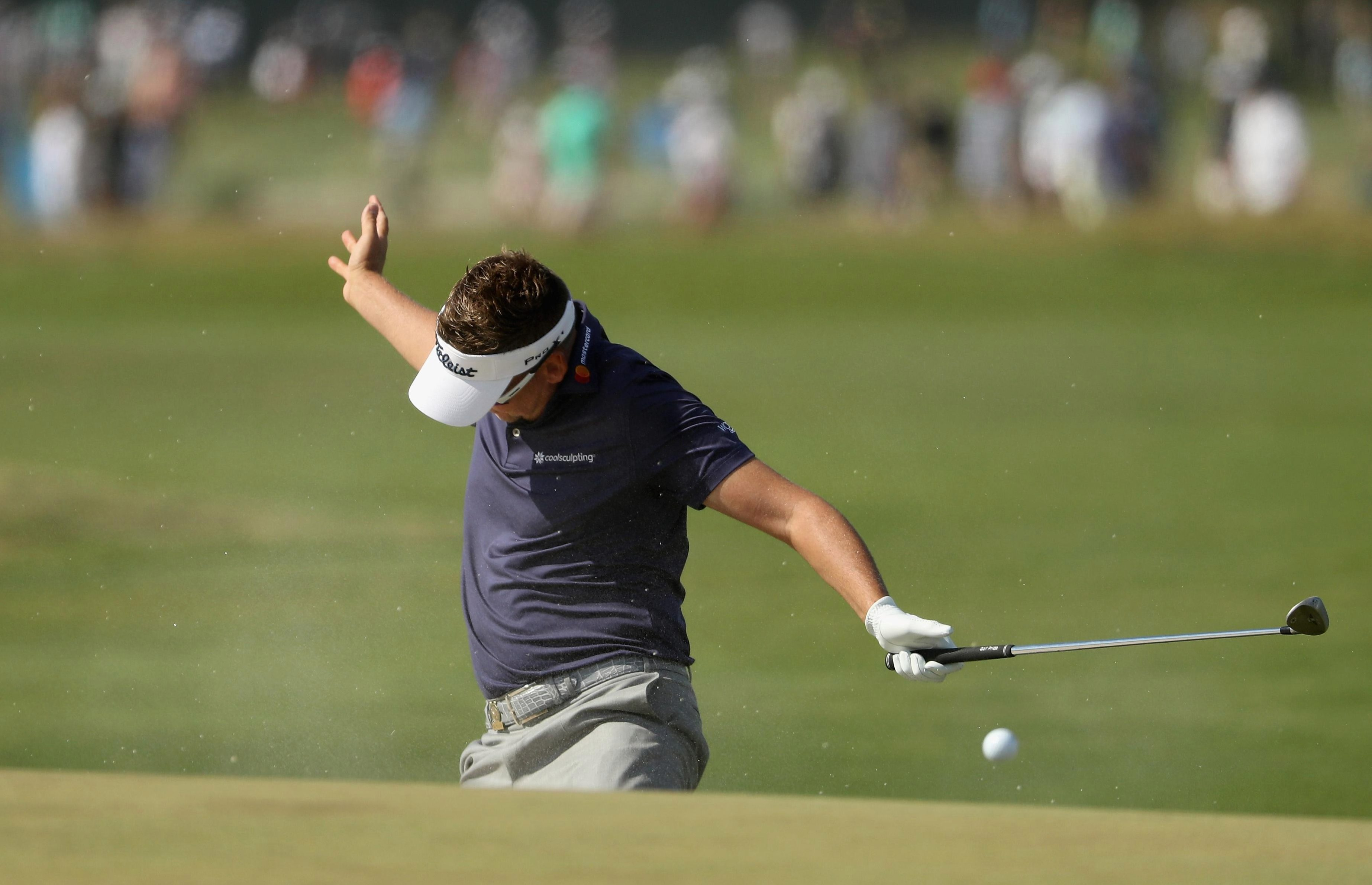 Ian Poulter claims he has was verbally abused at US Open