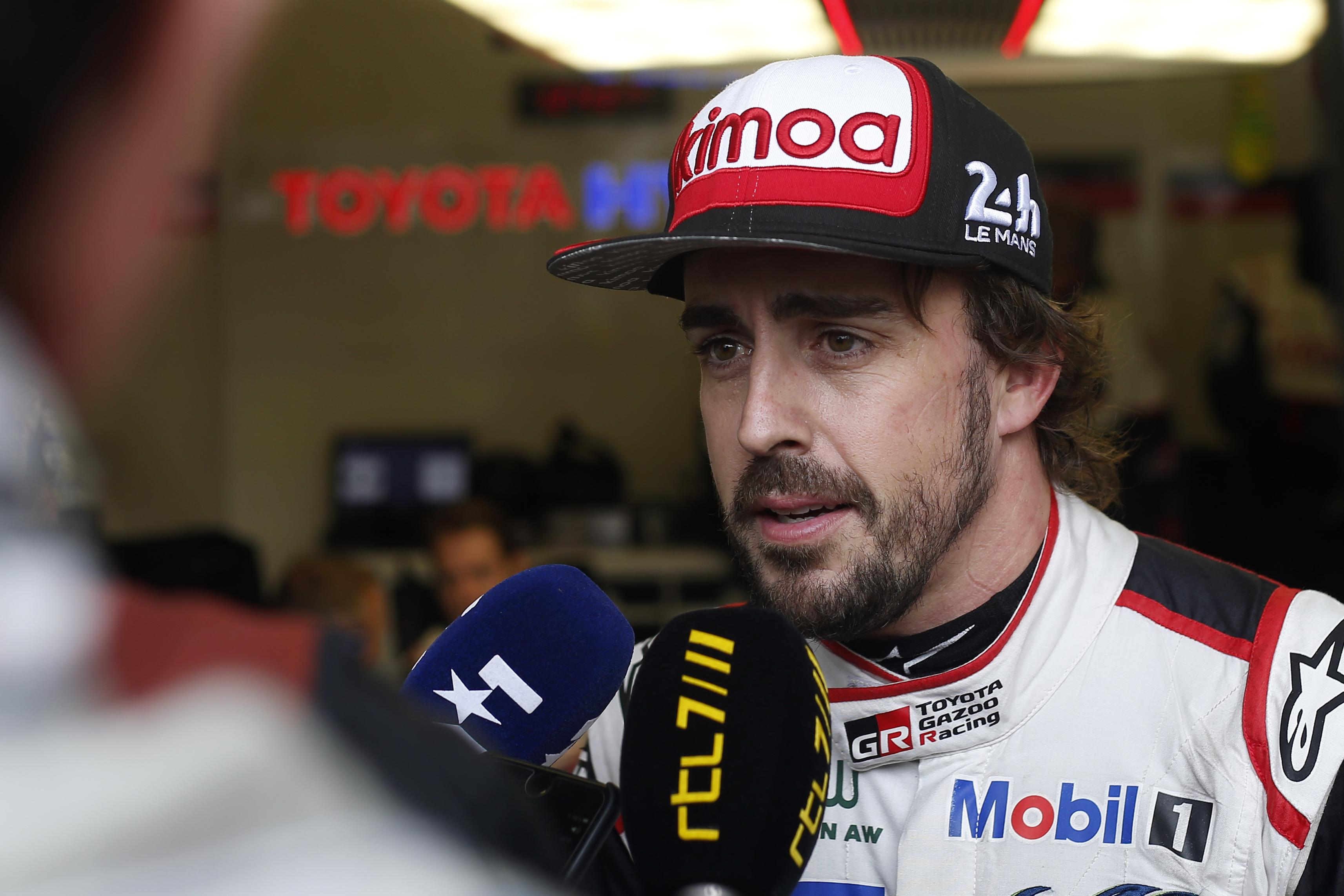 Alonso and his Toyota hybrid were big favourites - and now he has 2/3 of the triple crown