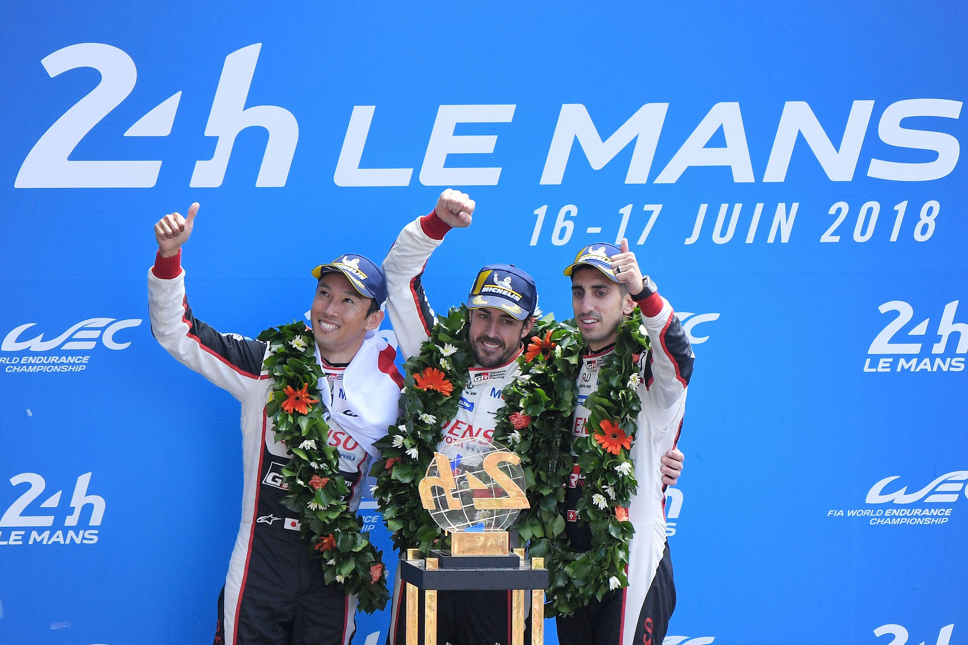 Fernando Alonso wins Le Mans with Toyota