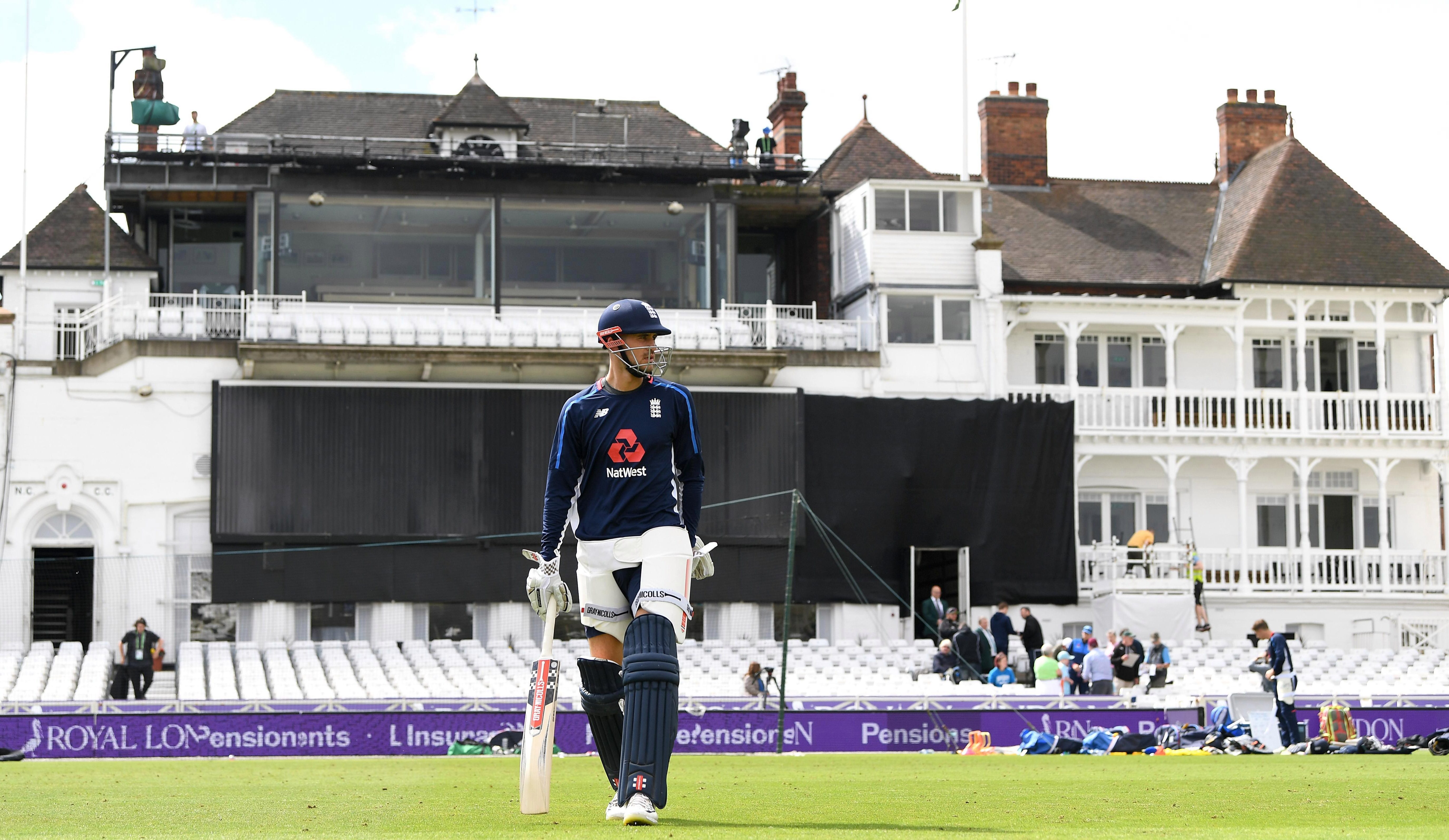 Alex Hales will play at his home ground in the third ODI