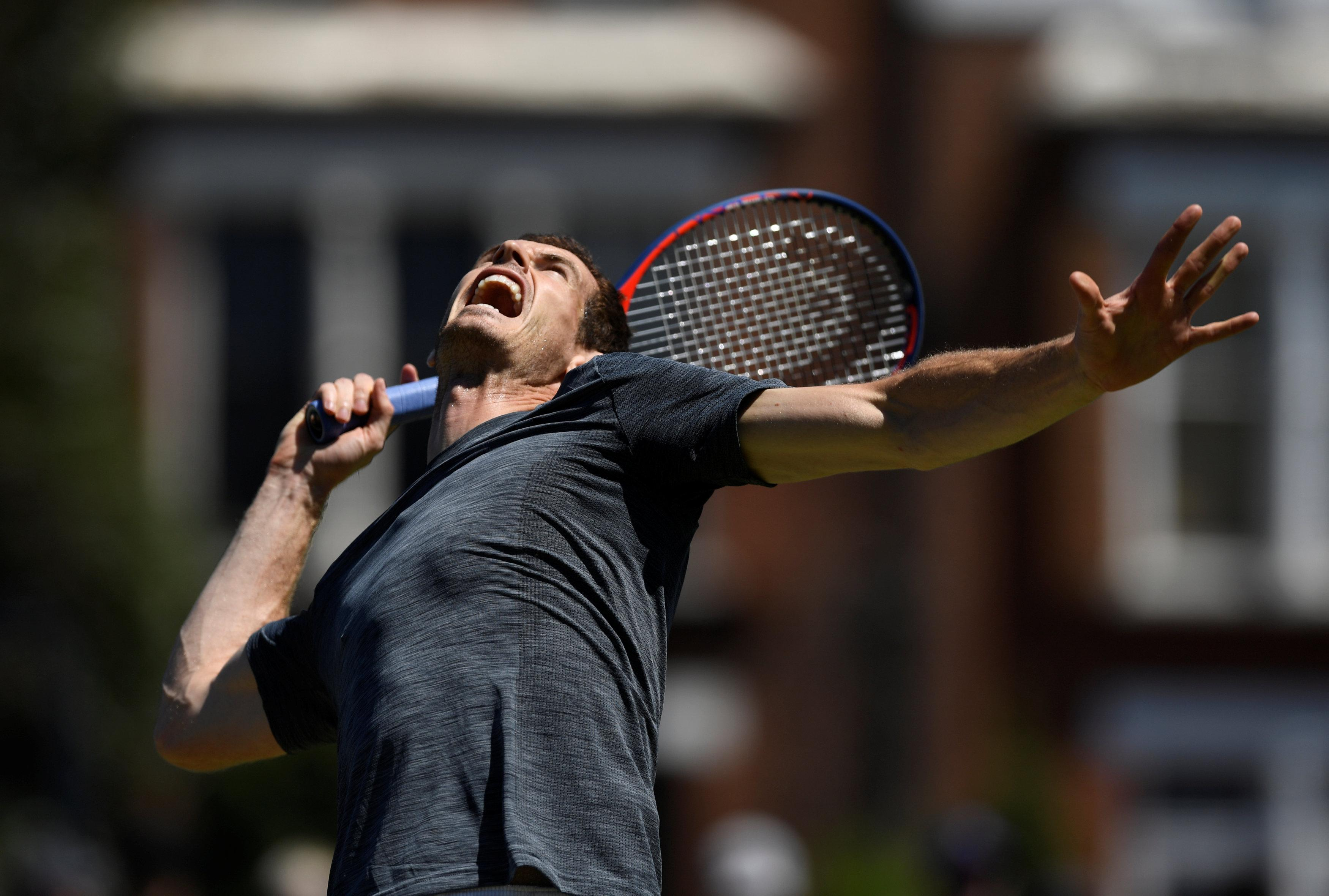 Andy Murray will take on Nick Kyrgios in the first-round at Queen's