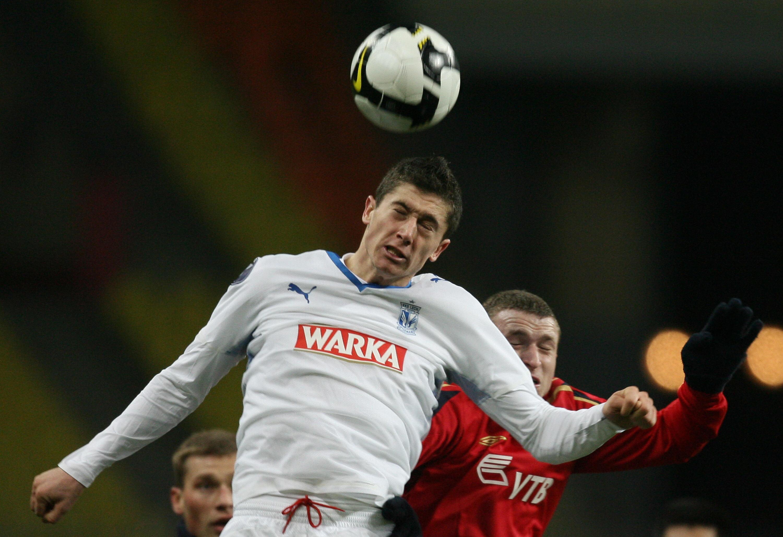 As a success at Lech Poznan, Robert Lewandowski attracted interest from other European clubs
