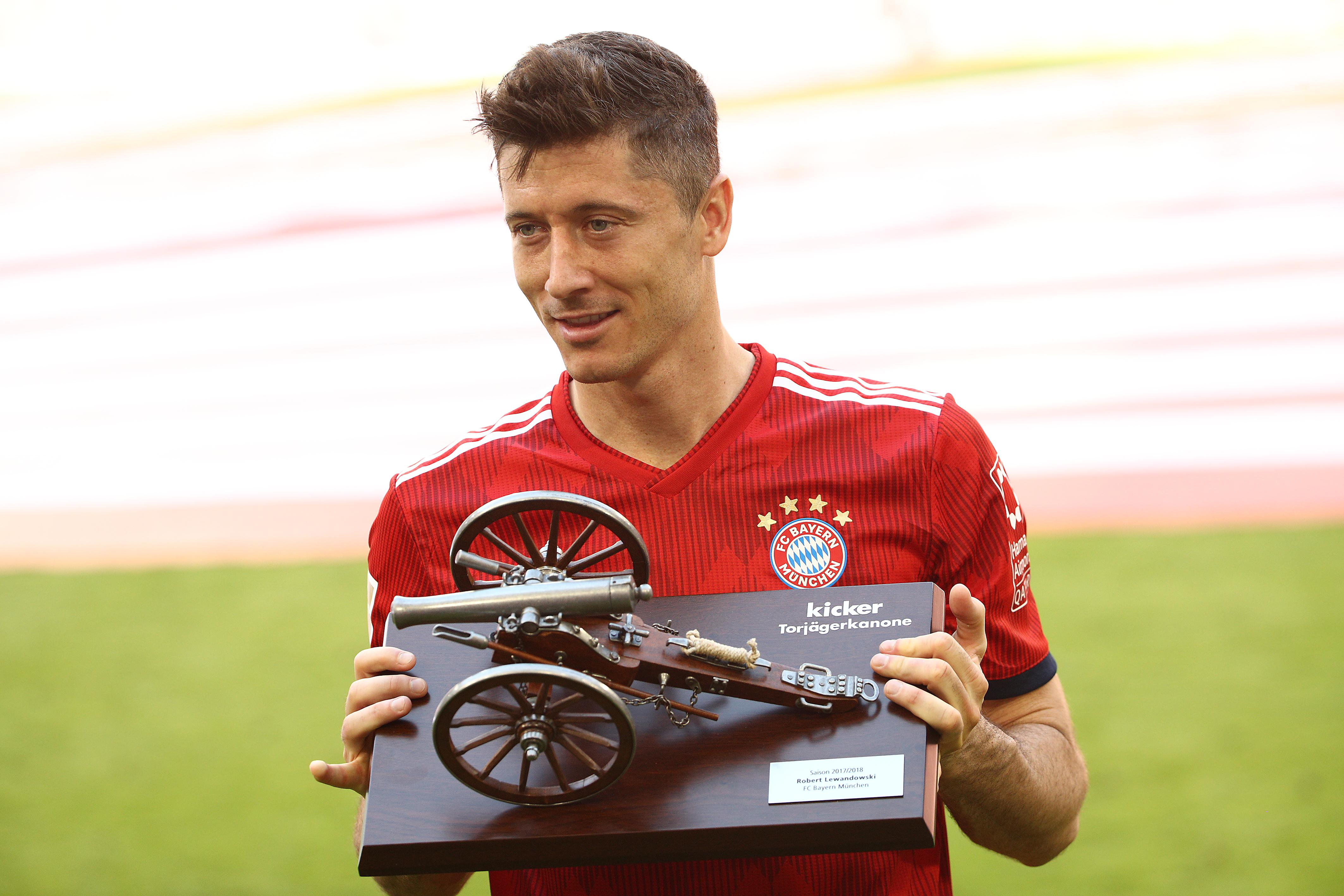 Robert Lewandowski has gone to become one of the world's best strikers