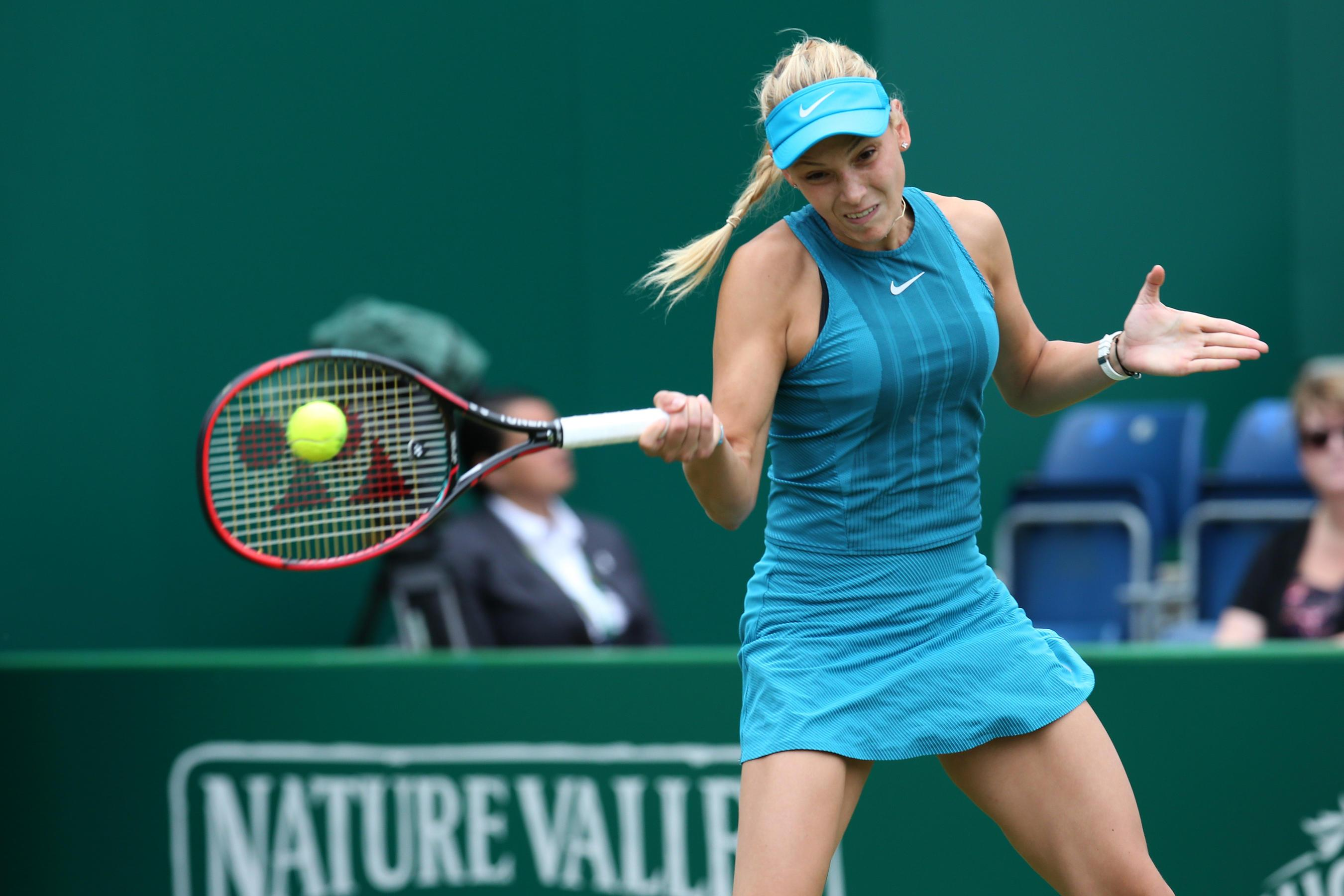 Vekic won her second WTA Tour title last year at Nottingham, beating Jo Konta in the final