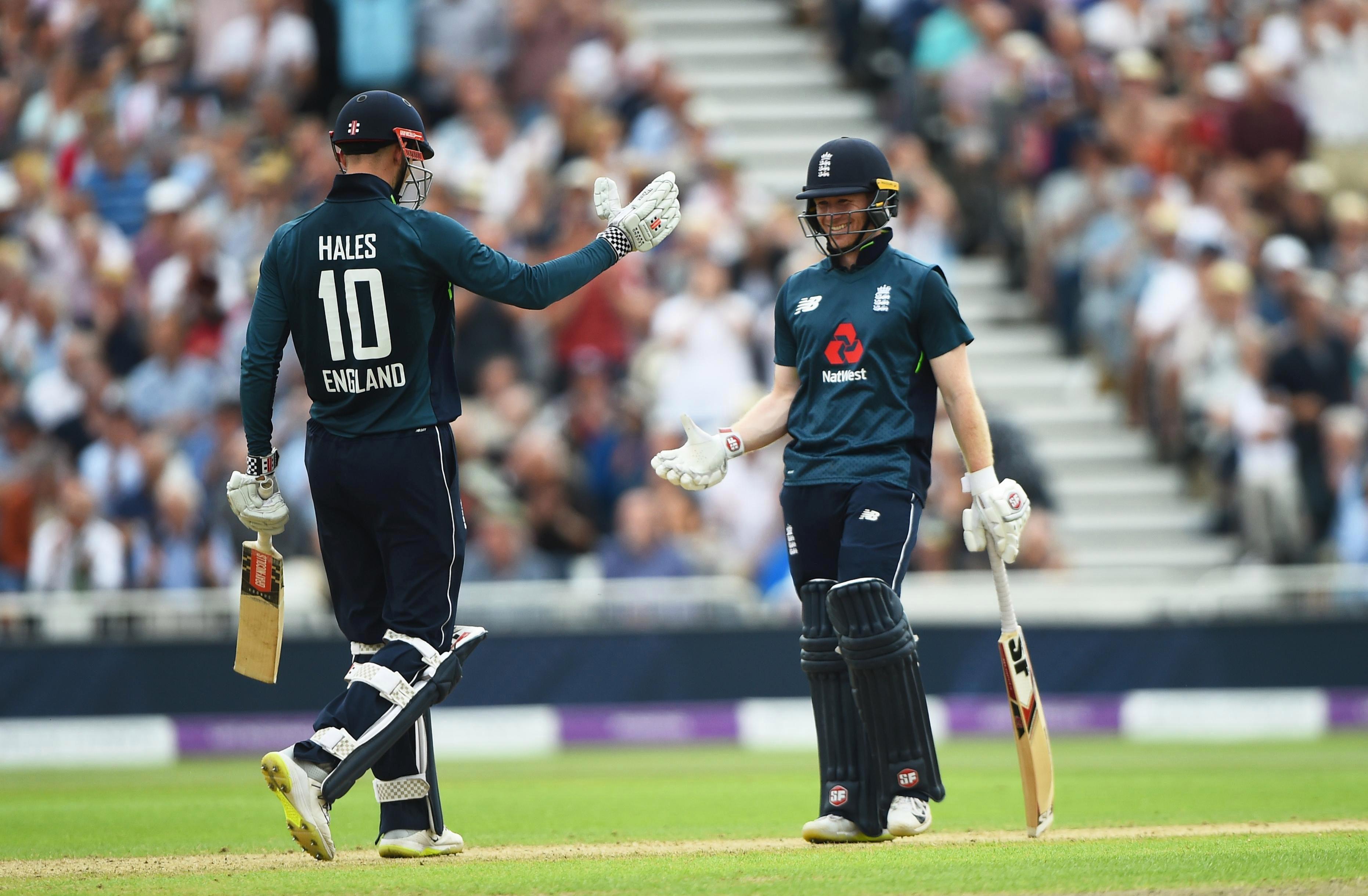 Alex Hales reckons England could surpass 500 runs in a ODI soon