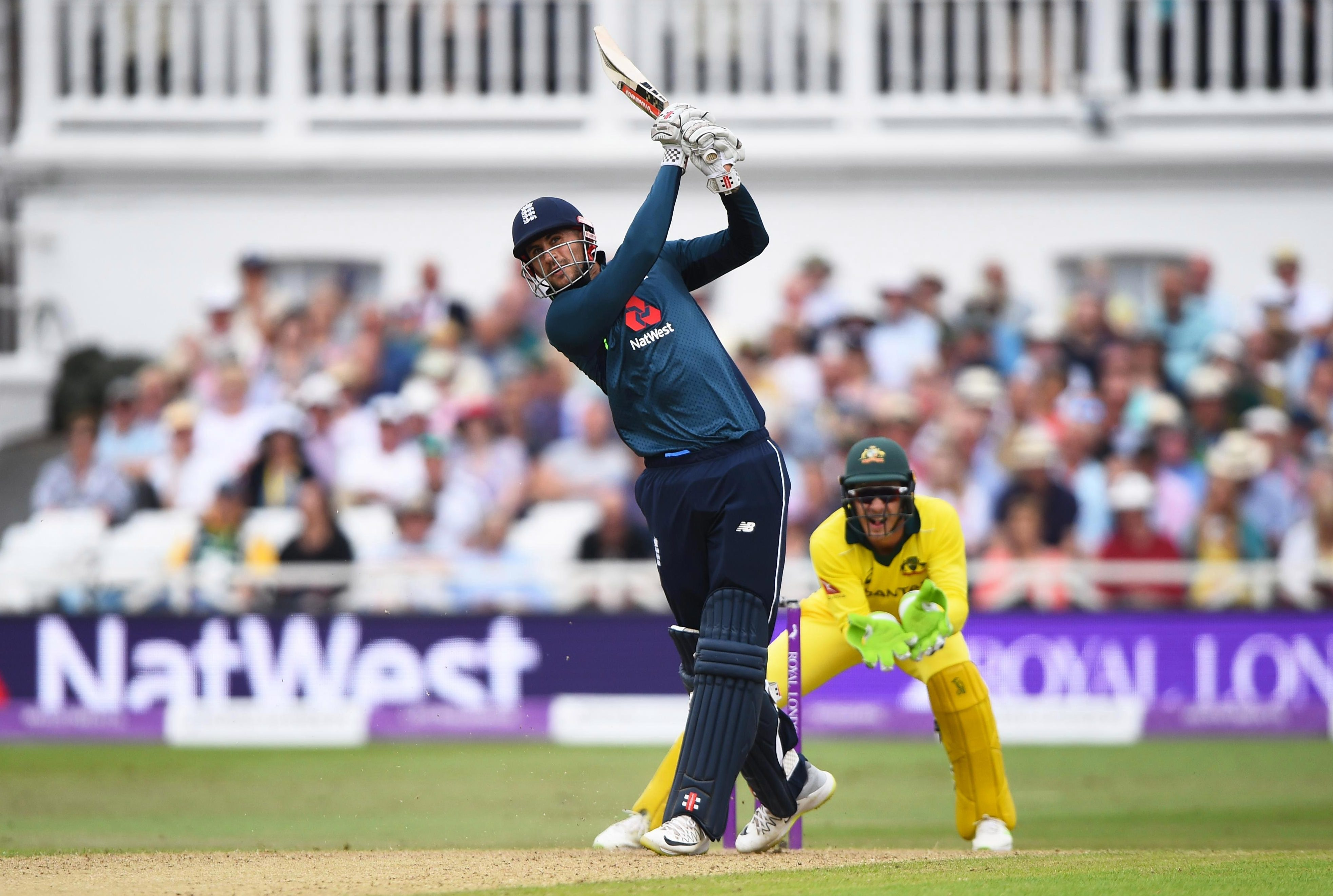 Alex Hales slogged his way to an impressive 147 in the last ODI against Australia