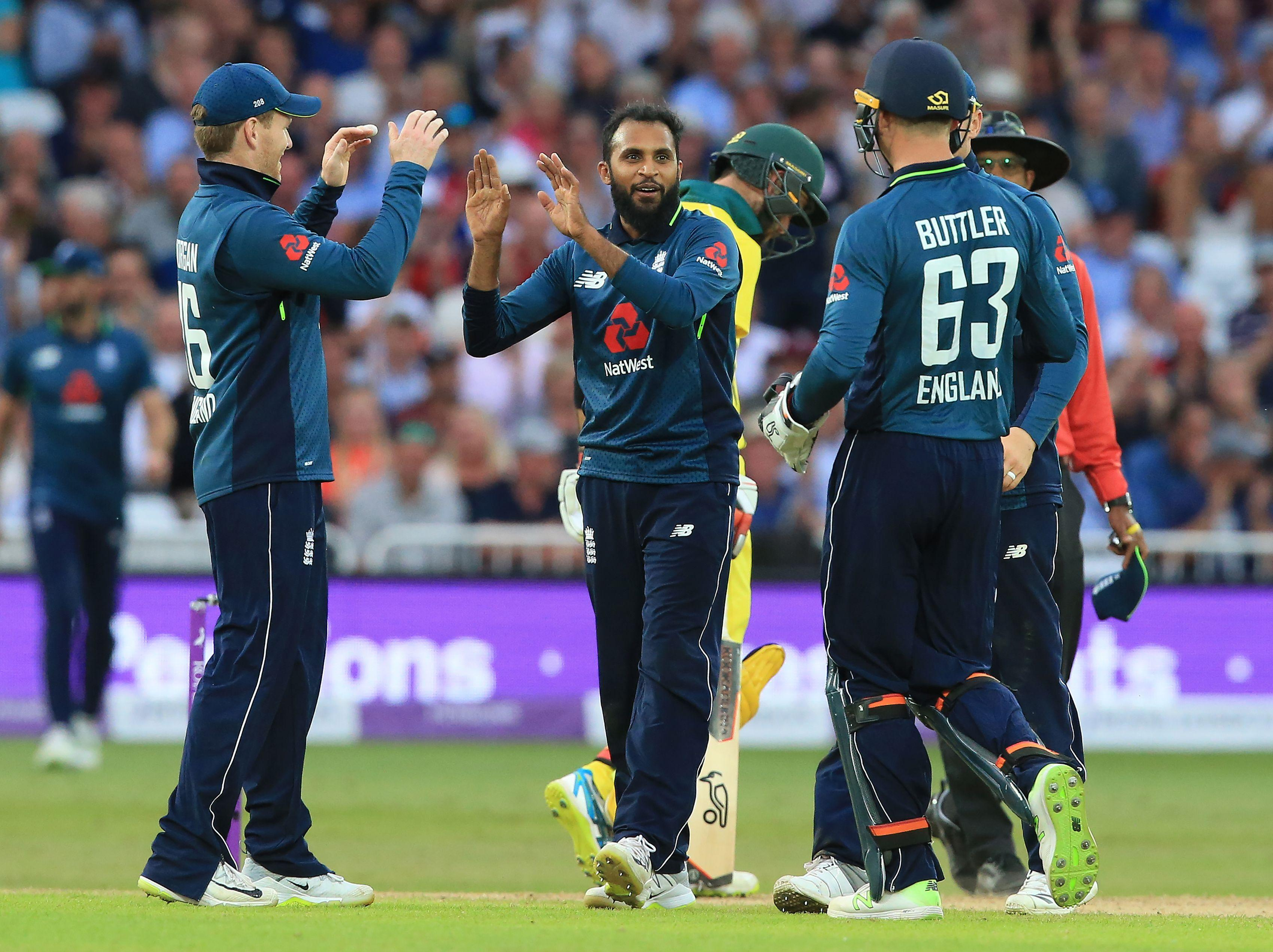 England's spinners took seven wickets between them in the crushing win