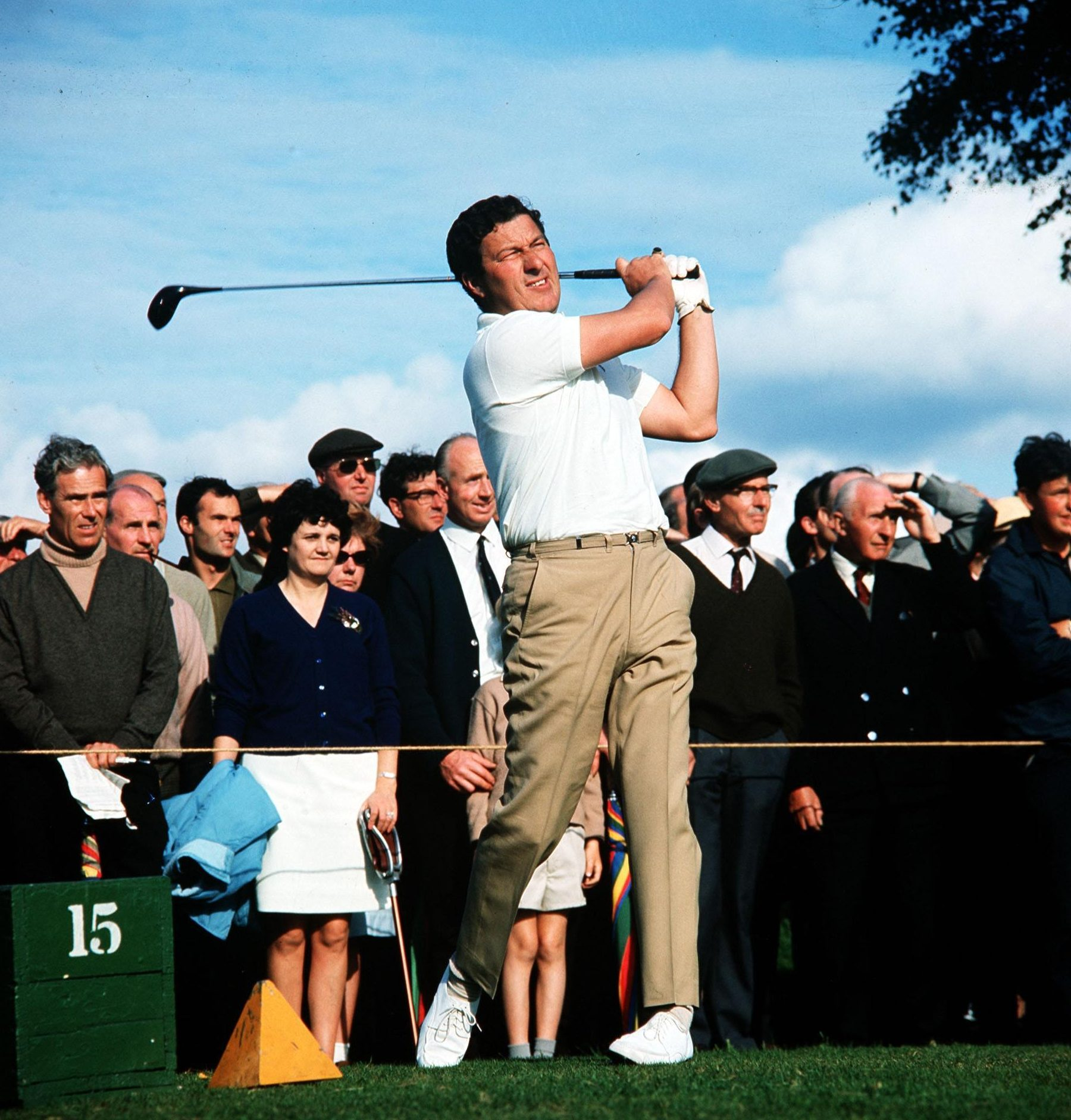 Australia's five-time British Open winner, pictured in the Seventies, died at his Melbourne home today