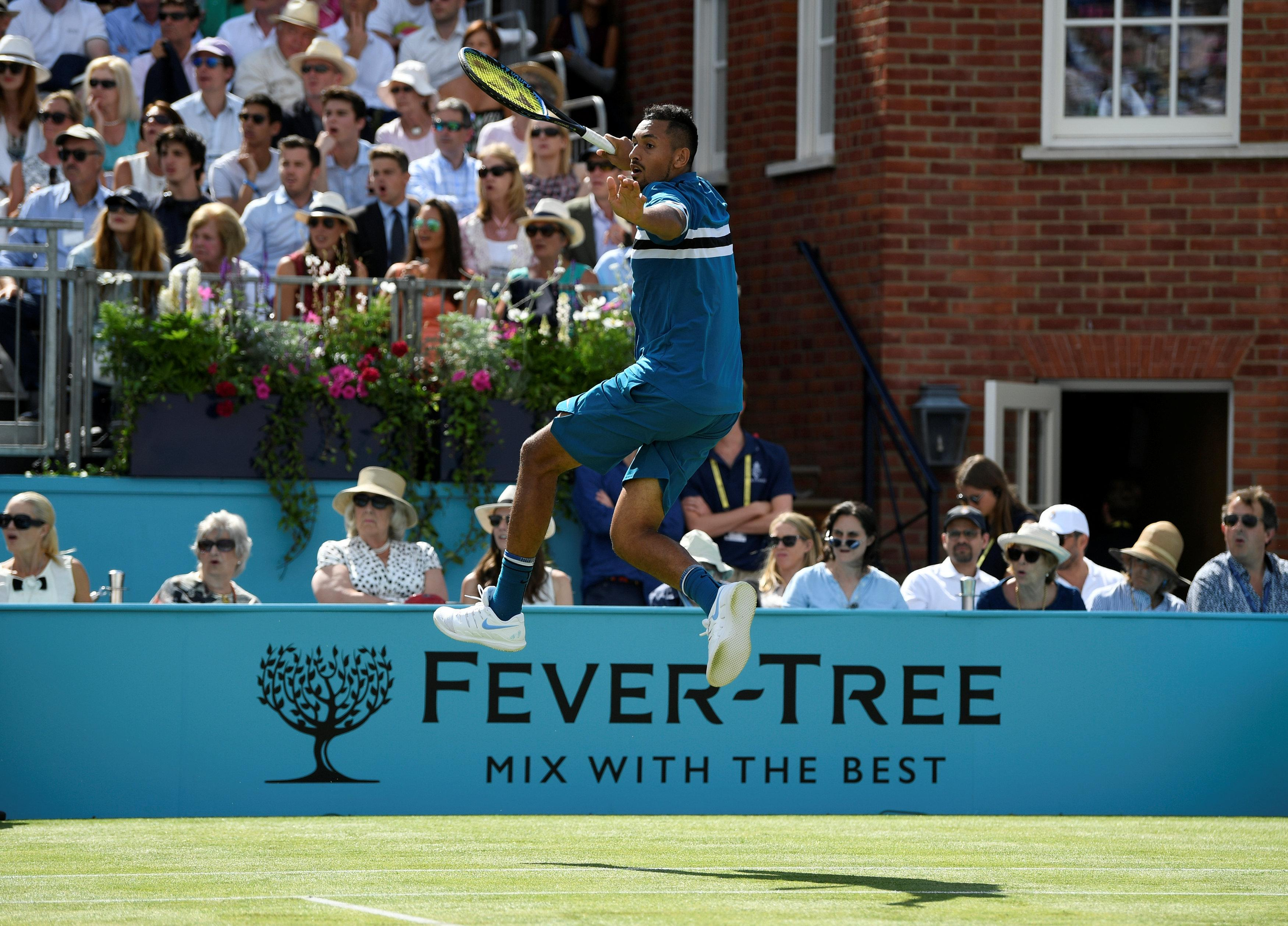 Kyrgios put on a fantastic performance to back up his victory over Andy Murray