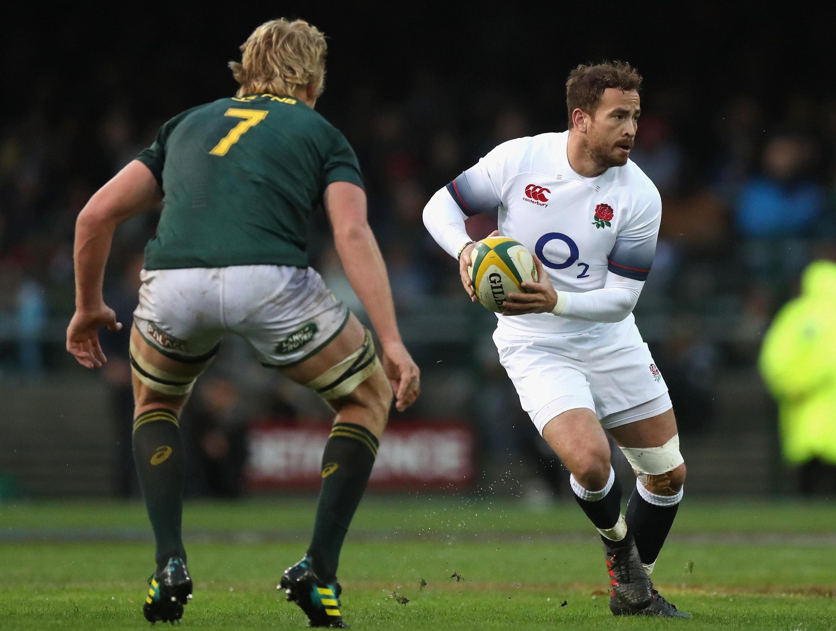 Returning Danny Cipriani impressed - setting up a try for Jonny May with a great kick