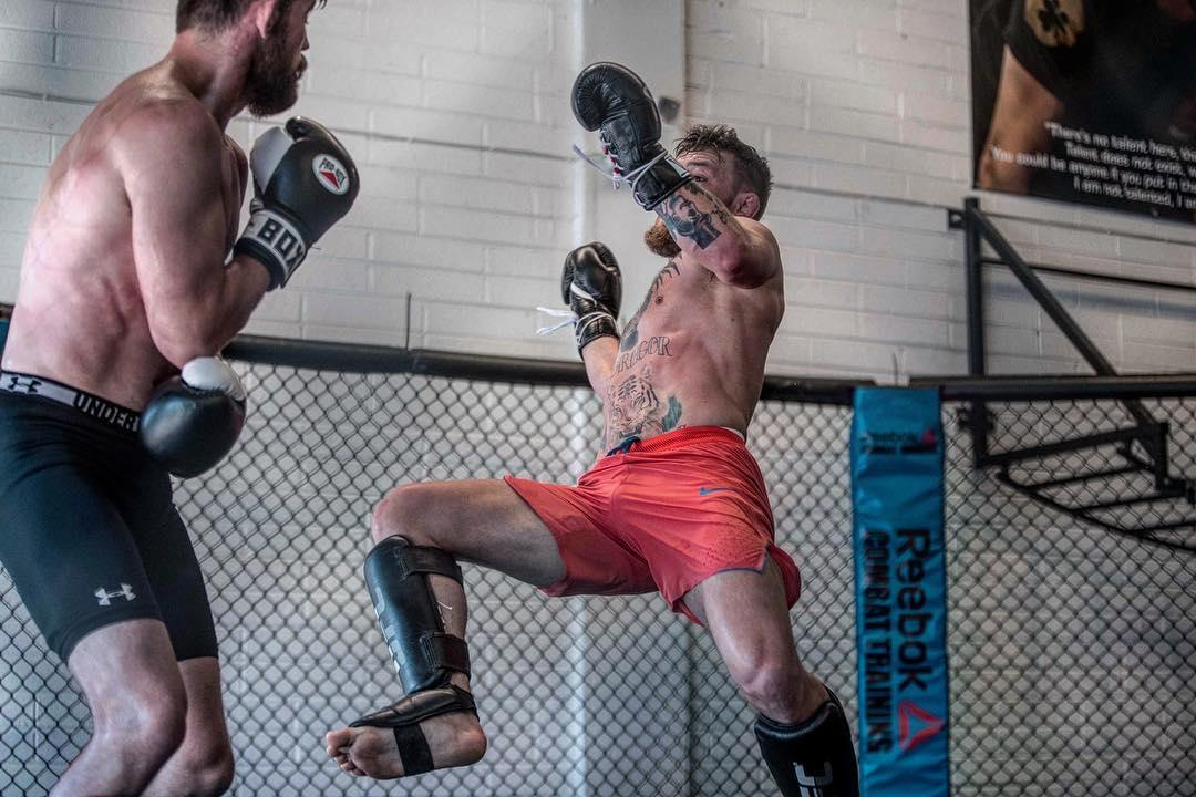 Irish MMA fighter McGregor is in training in preparation to return to the Octagon