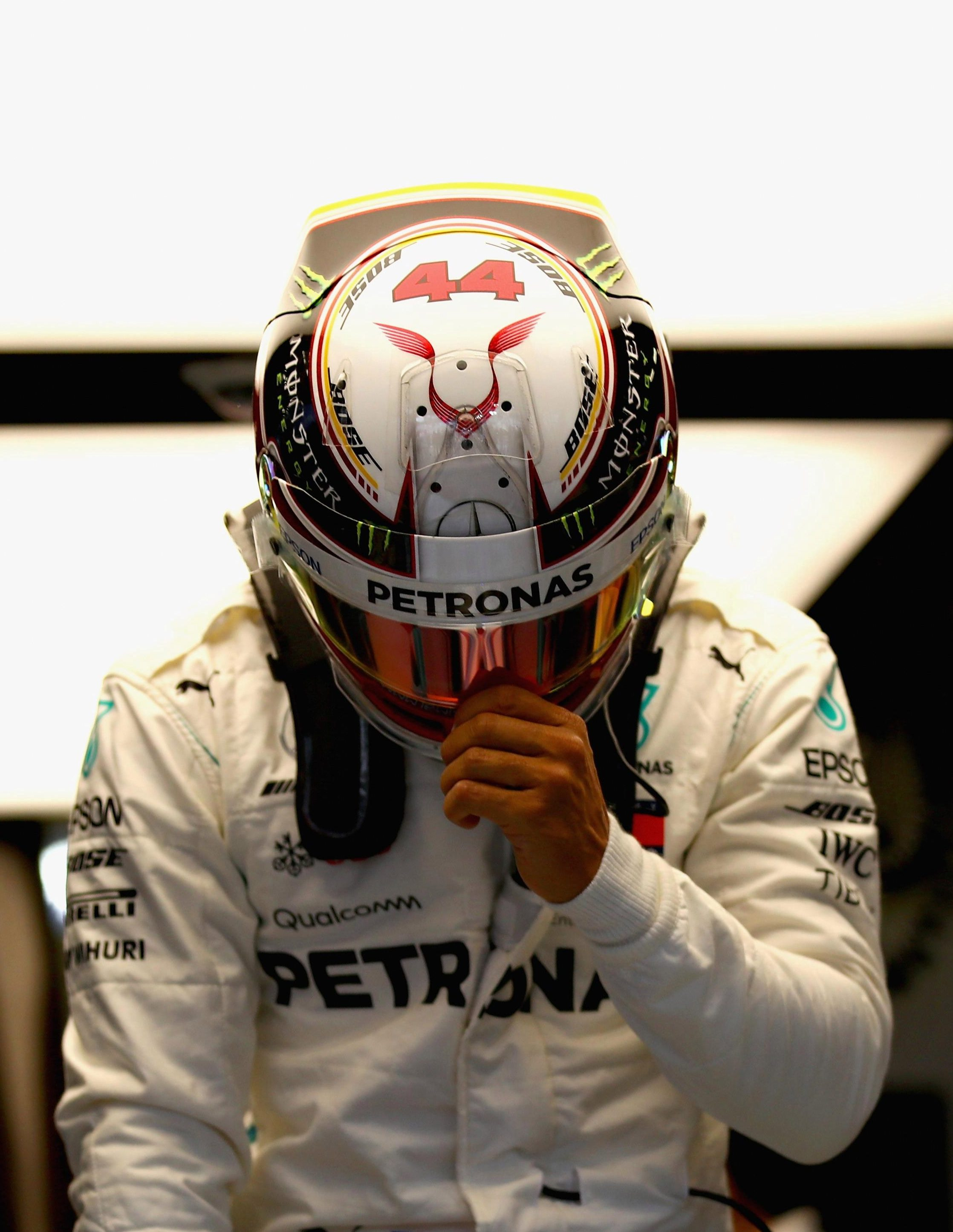 Hamilton is favourite to win Sunday's Grand Prix