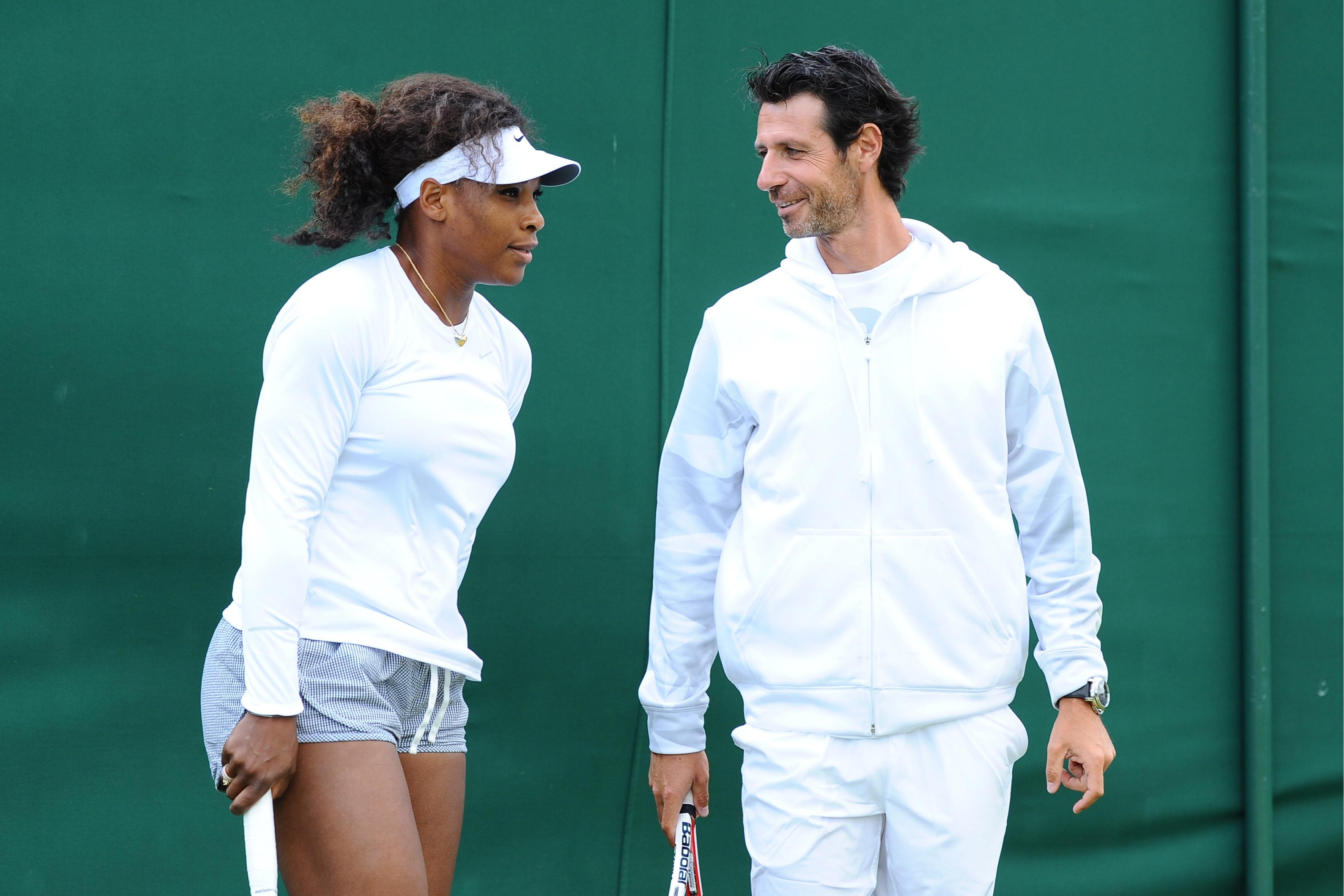 Sharapova had a dig at Serena's alleged affair with her coach, Patrick Mouratoglou