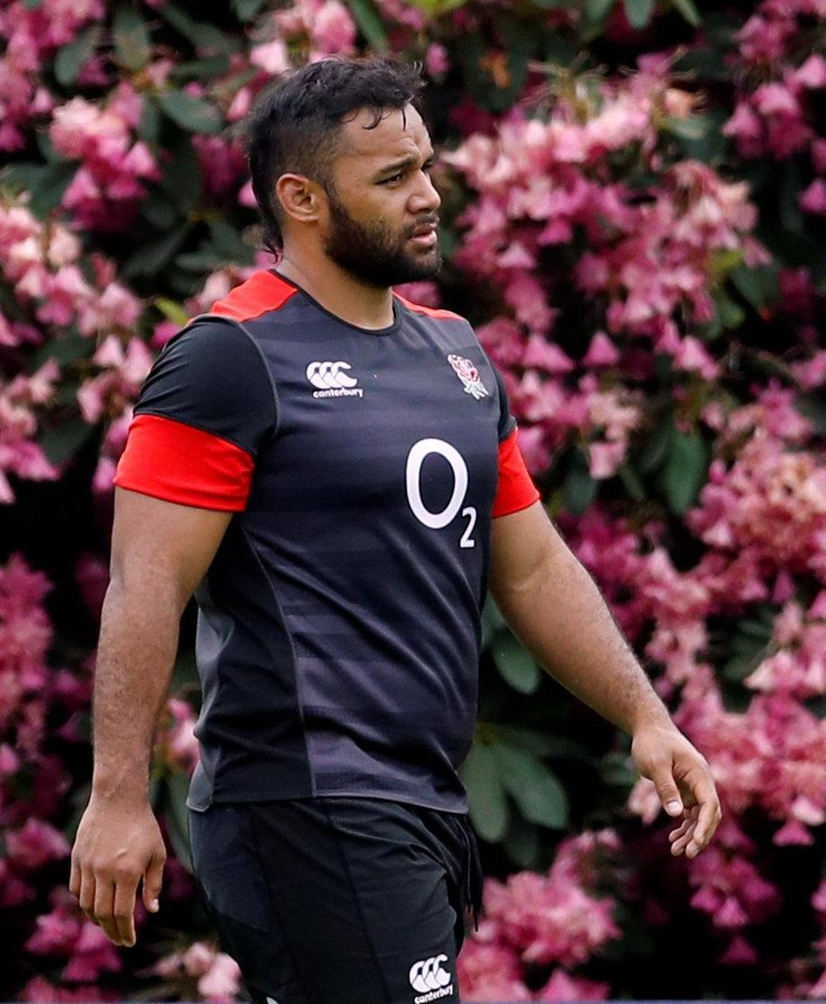 England ace Billy Vunipola faces a fitness race to face South Africa