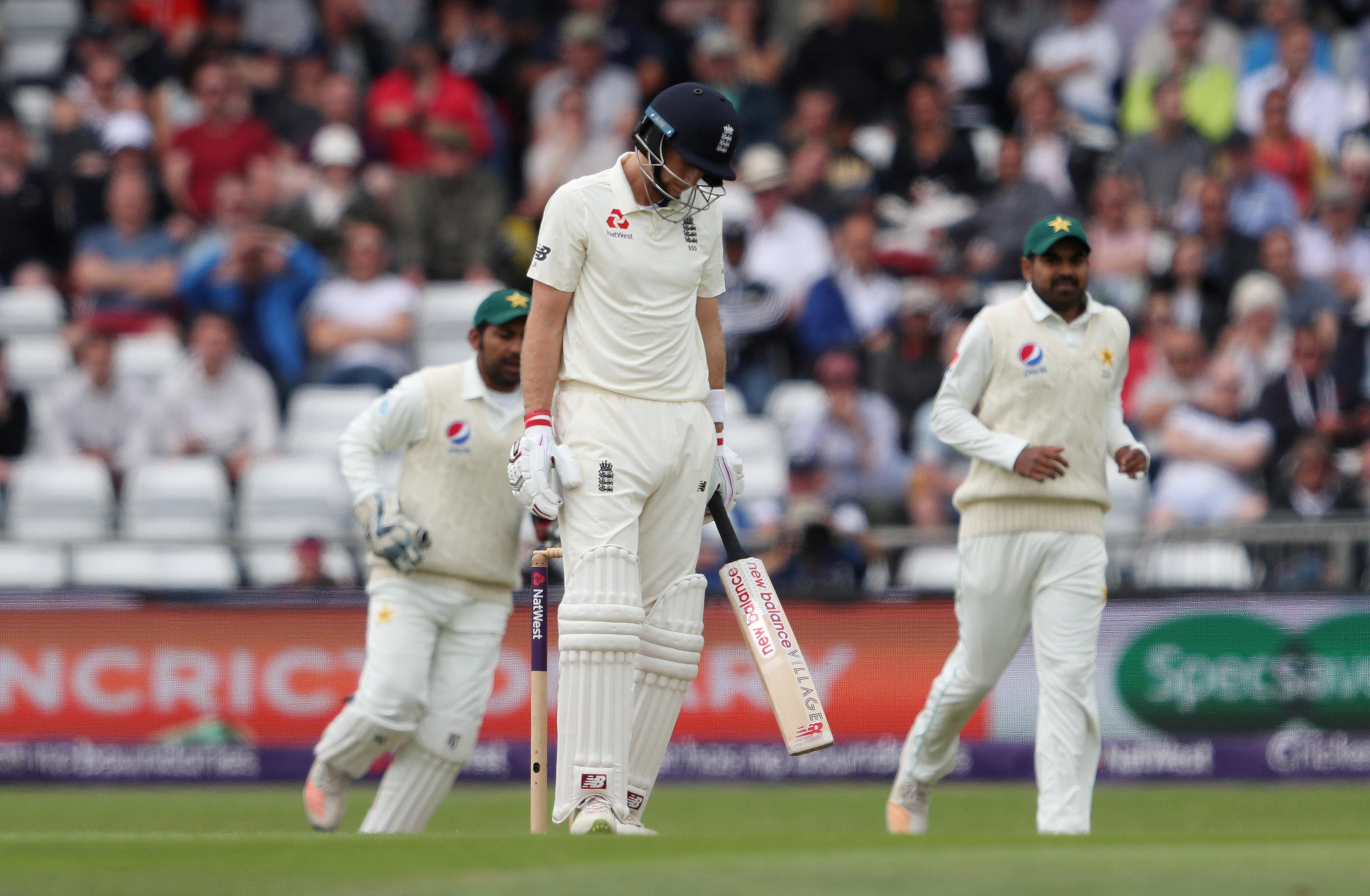 Joe Root was disappointed to be dismissed for 45 on day two