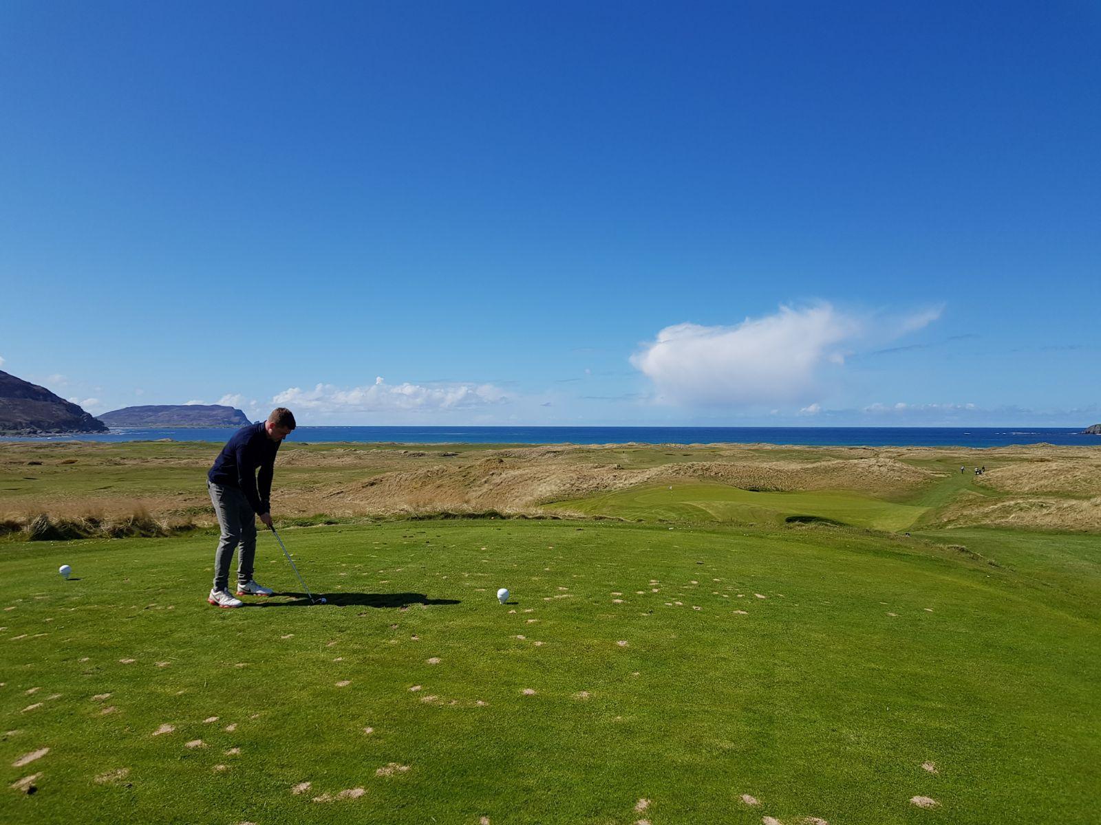 I took on Ballyliffin, host to this year's Irish Open