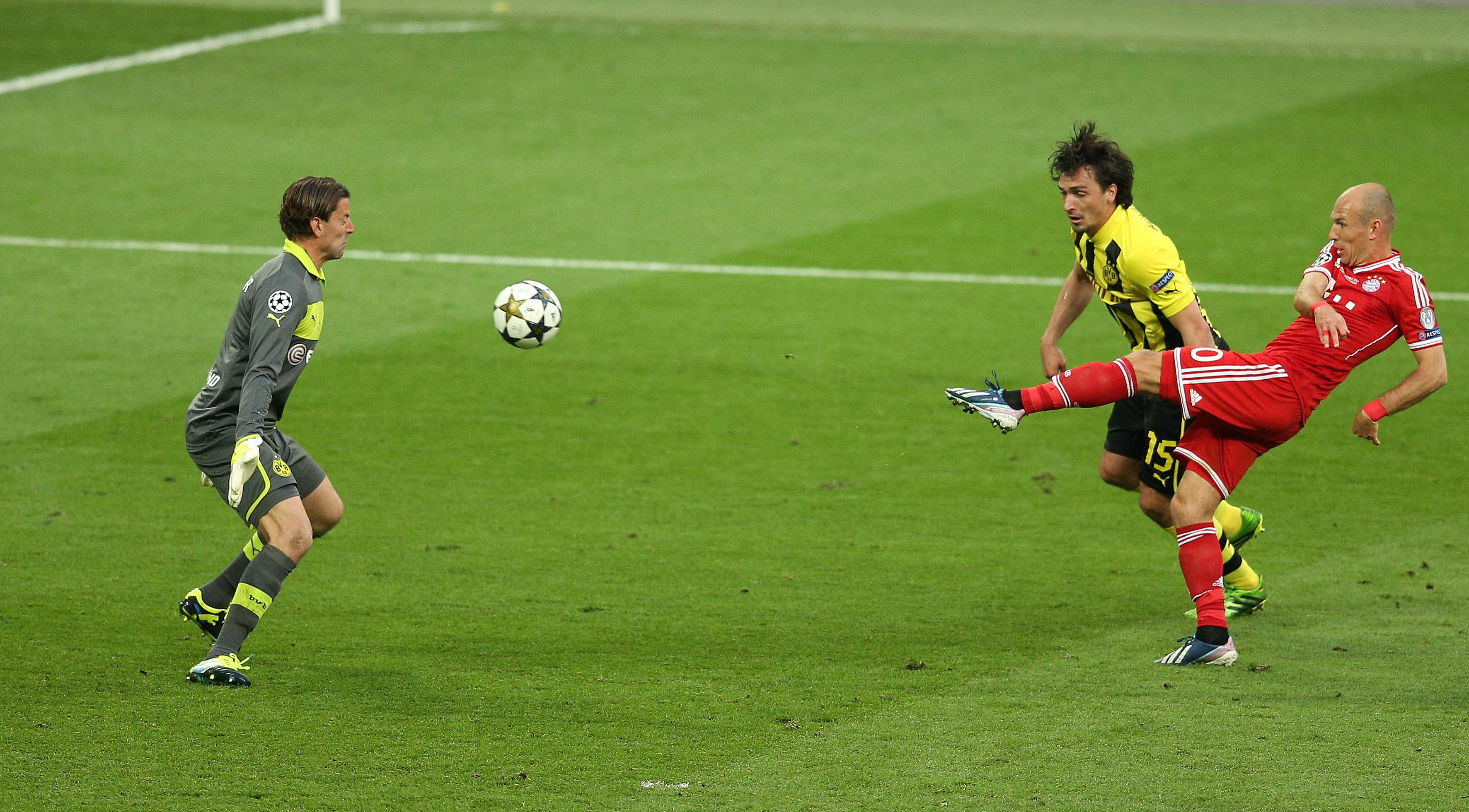 Weidenfeller was BVB's goalkeeper when they faced Bayern Munich in the Champions League final at Wembley