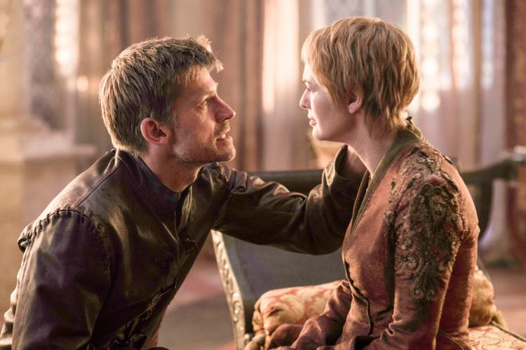Some fans think Jaime Lanister, left, will kill his sister Cersei, right in the final series of Game Of Thrones
